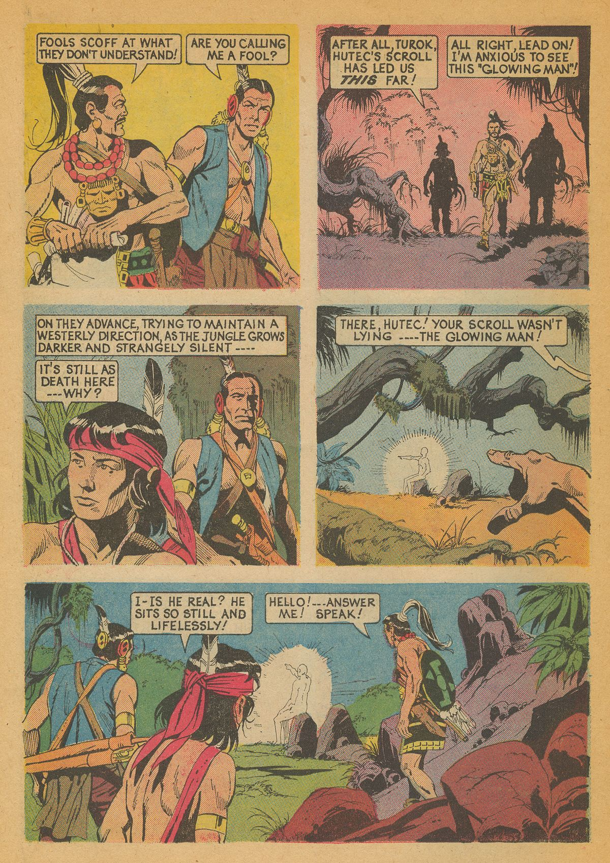 Read online Turok, Son of Stone comic -  Issue #85 - 26