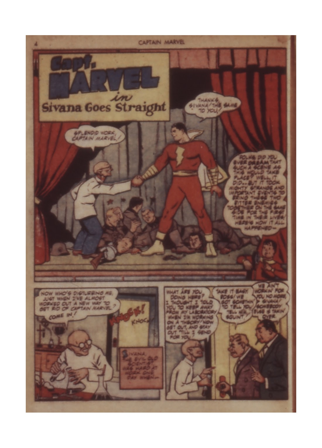 Captain Marvel Adventures issue 11 - Page 4