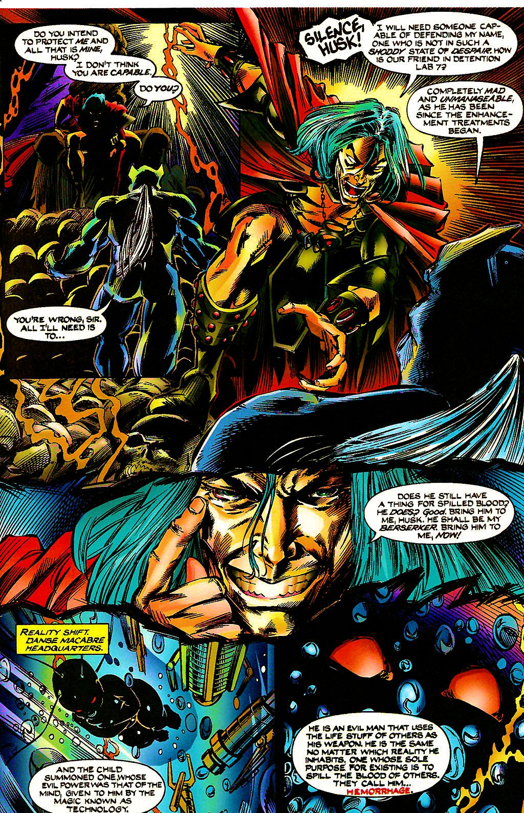 Read online Chains of Chaos comic -  Issue #3 - 7
