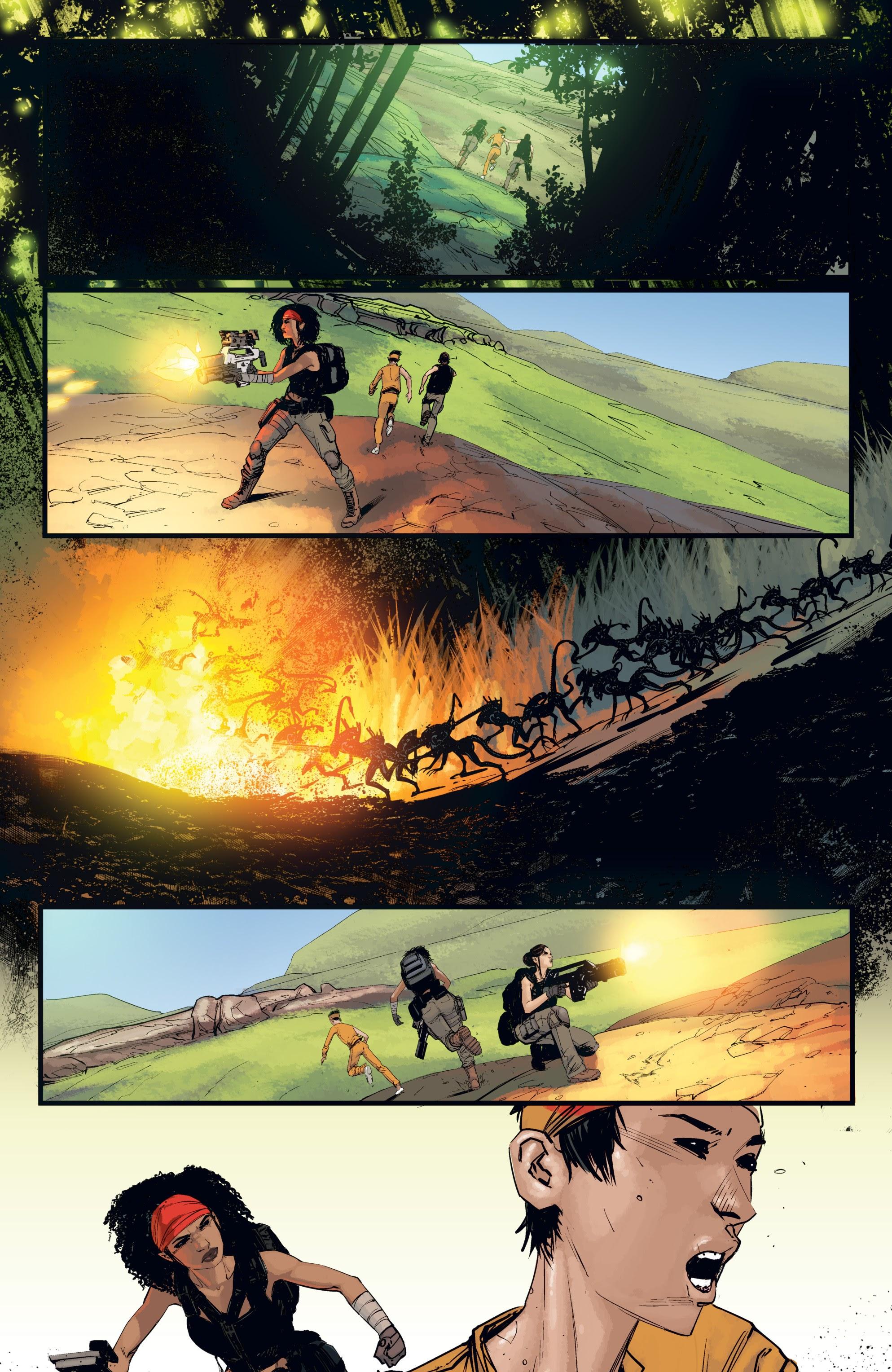Read online Aliens: Resistance comic -  Issue # _TPB - 84