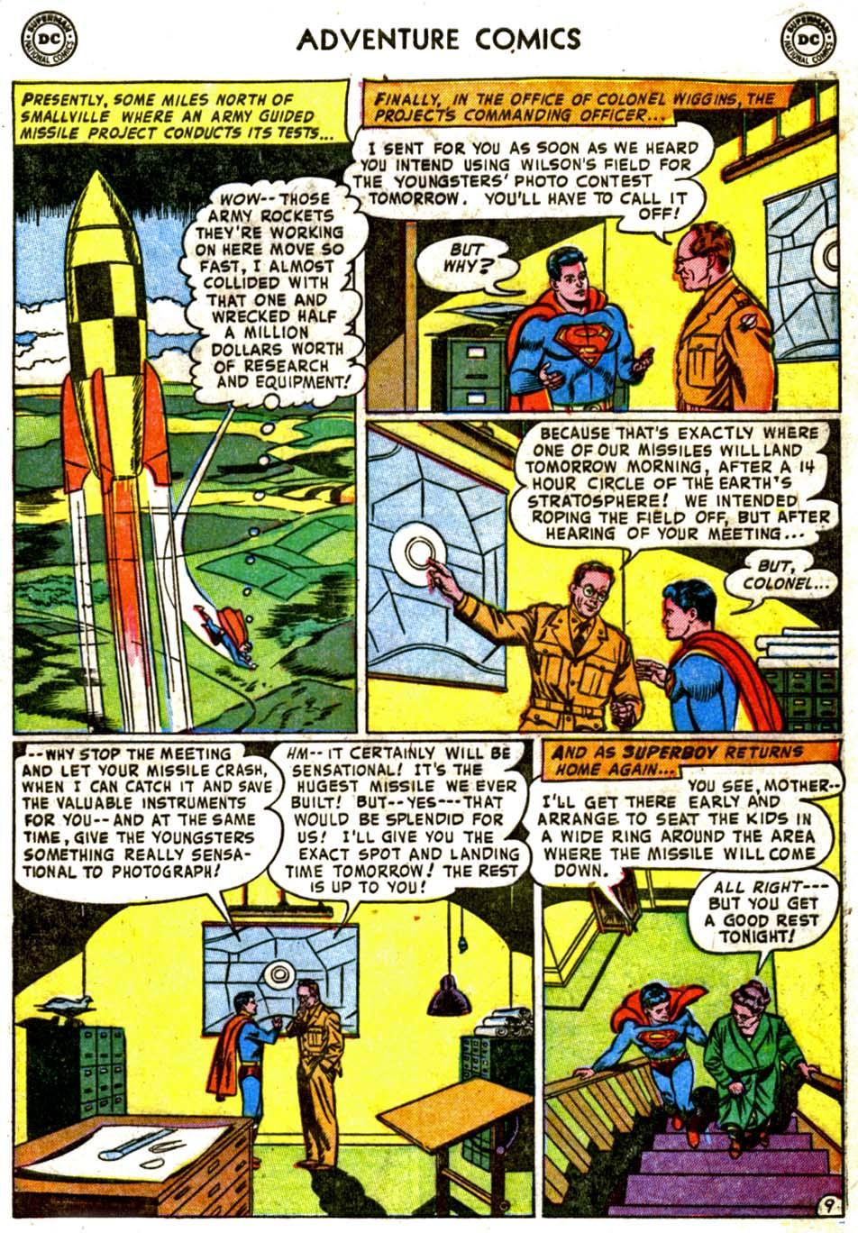 Read online Adventure Comics (1938) comic -  Issue #184 - 11