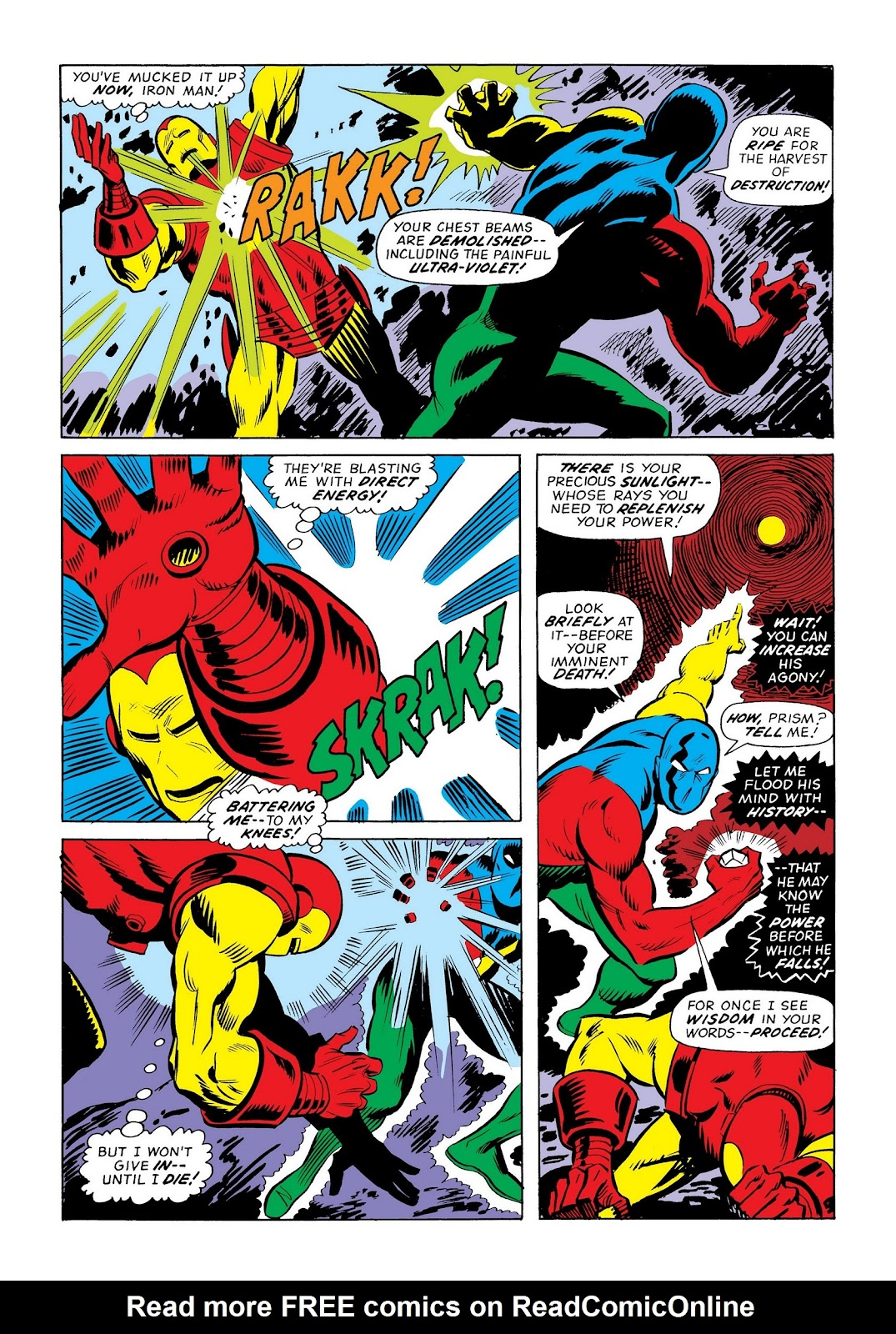 Read online Marvel Masterworks: The Invincible Iron Man comic -  Issue # TPB 9 (Part 3) - 44