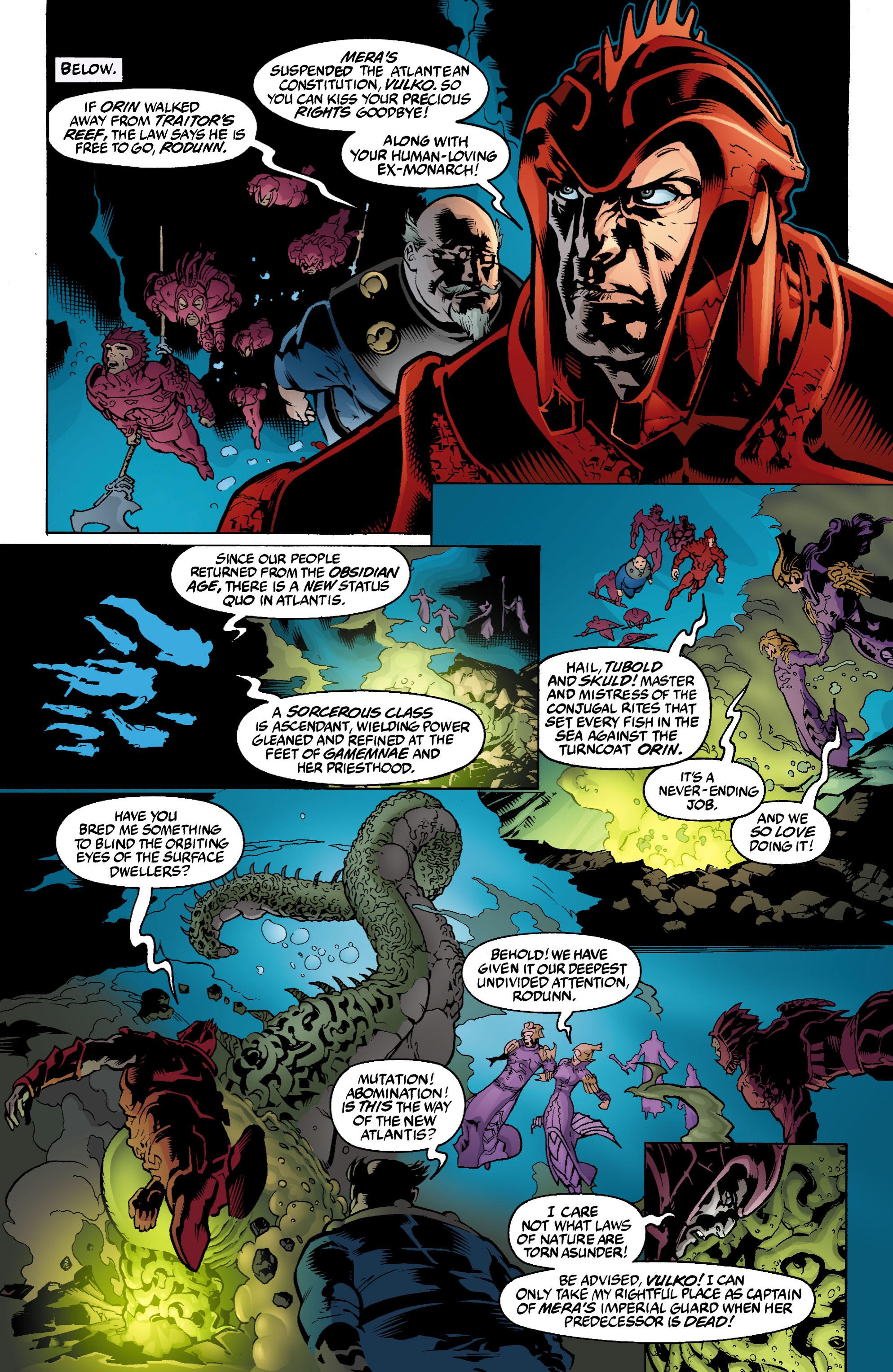 Read online Aquaman (2003) comic -  Issue #2 - 6