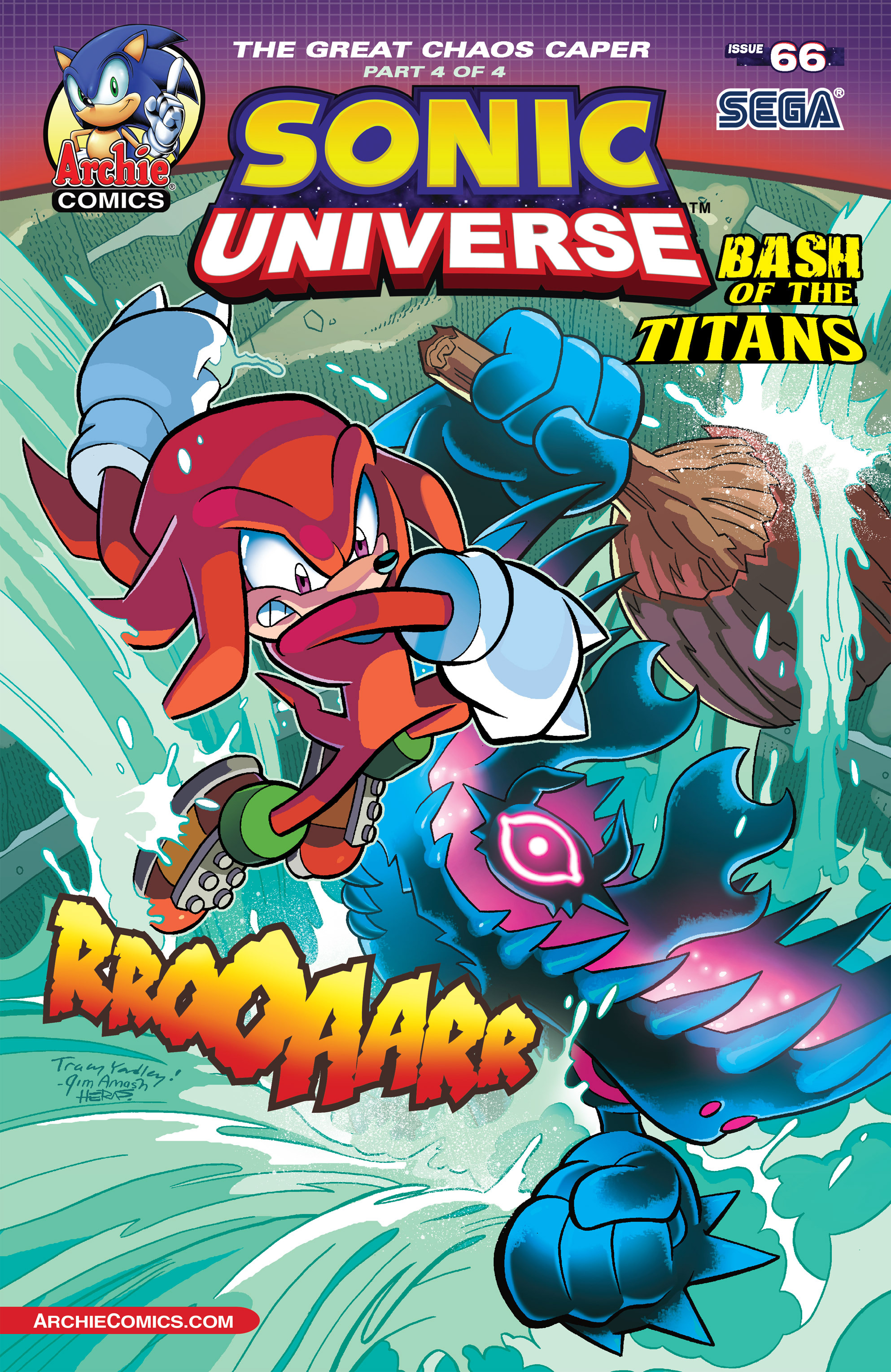 Read online Sonic Universe comic -  Issue #66 - 2