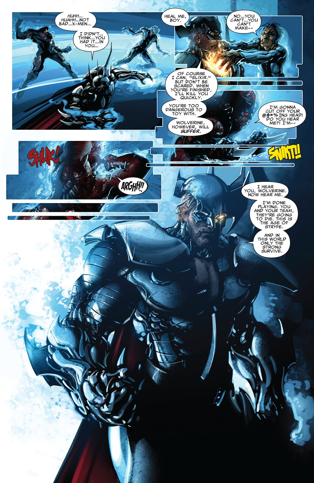 Read online X-Force/Cable: Messiah War comic -  Issue # _TPB (Part 2) - 87