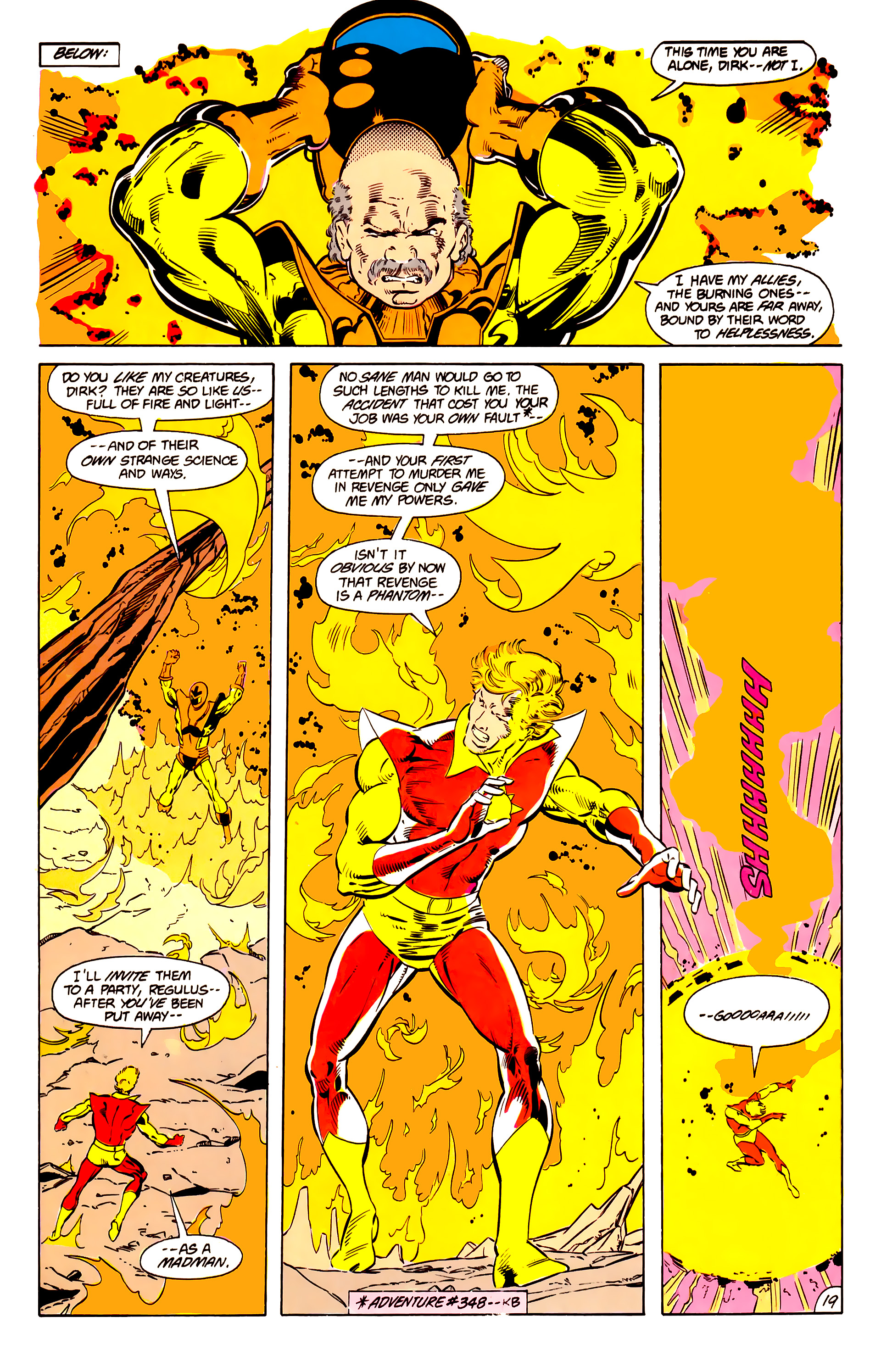 Legion of Super-Heroes (1984) 15 Page 20