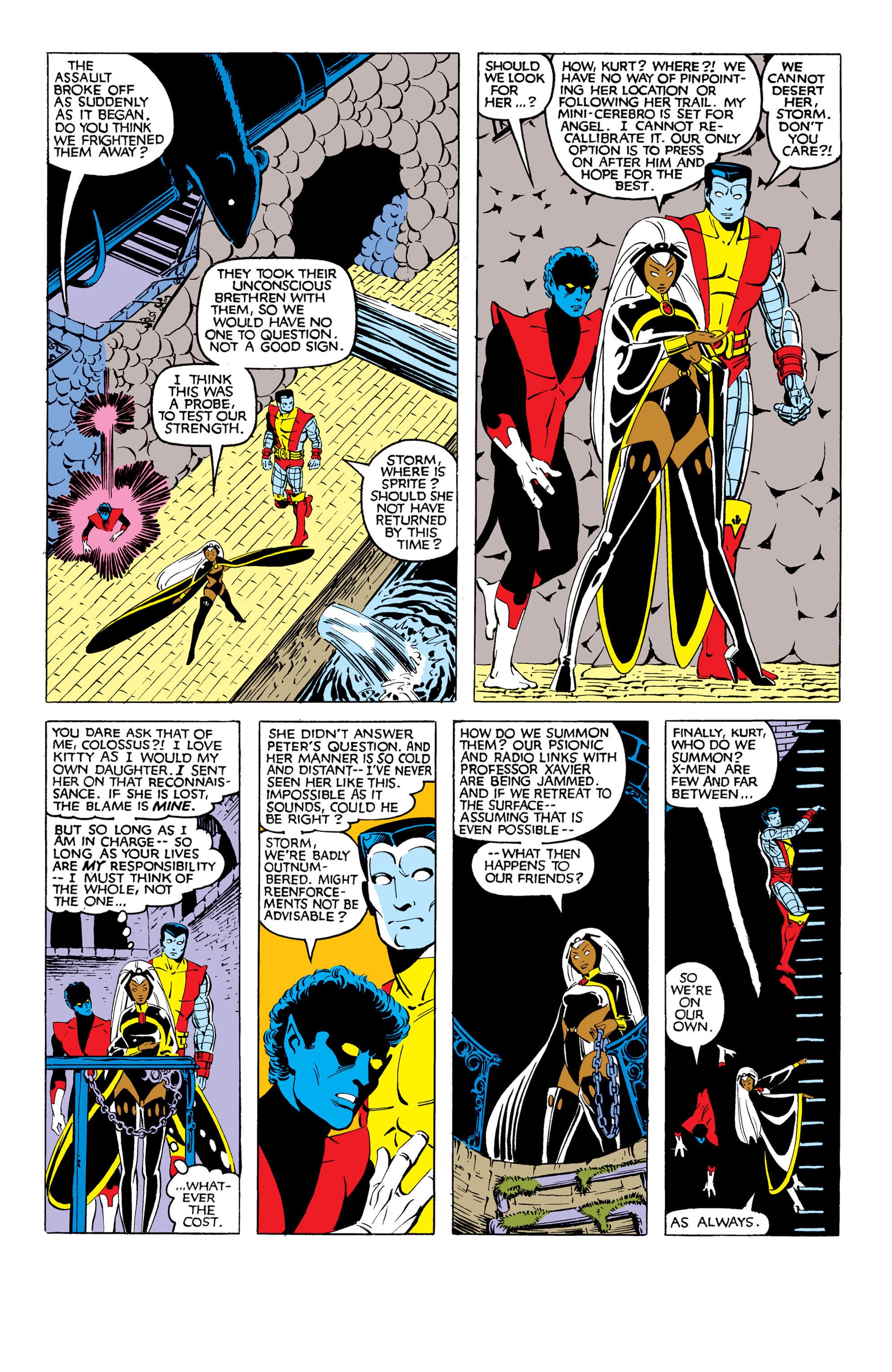 Read online Uncanny X-Men (1963) comic -  Issue #169 - 16