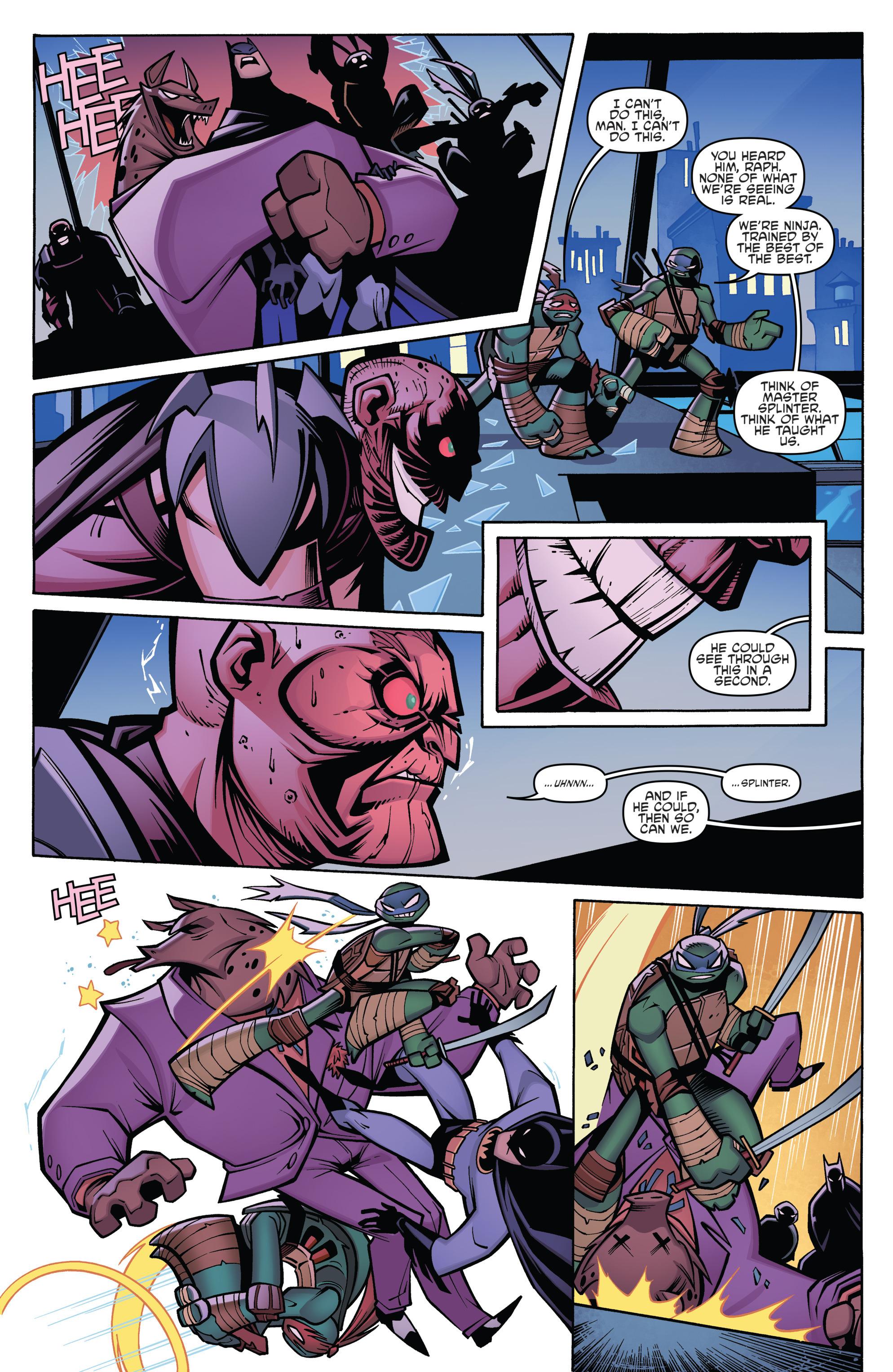 Read online Batman/Teenage Mutant Ninja Turtles Adventure comic -  Issue #4 - 19