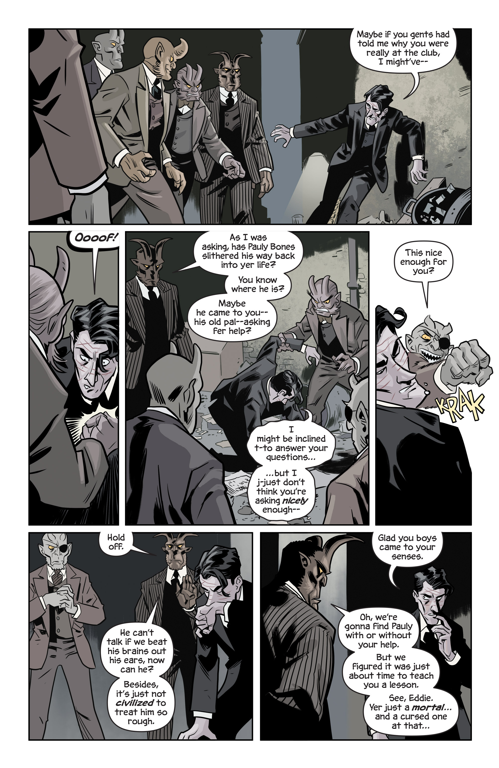 Read online The Damned comic -  Issue #1 - 22