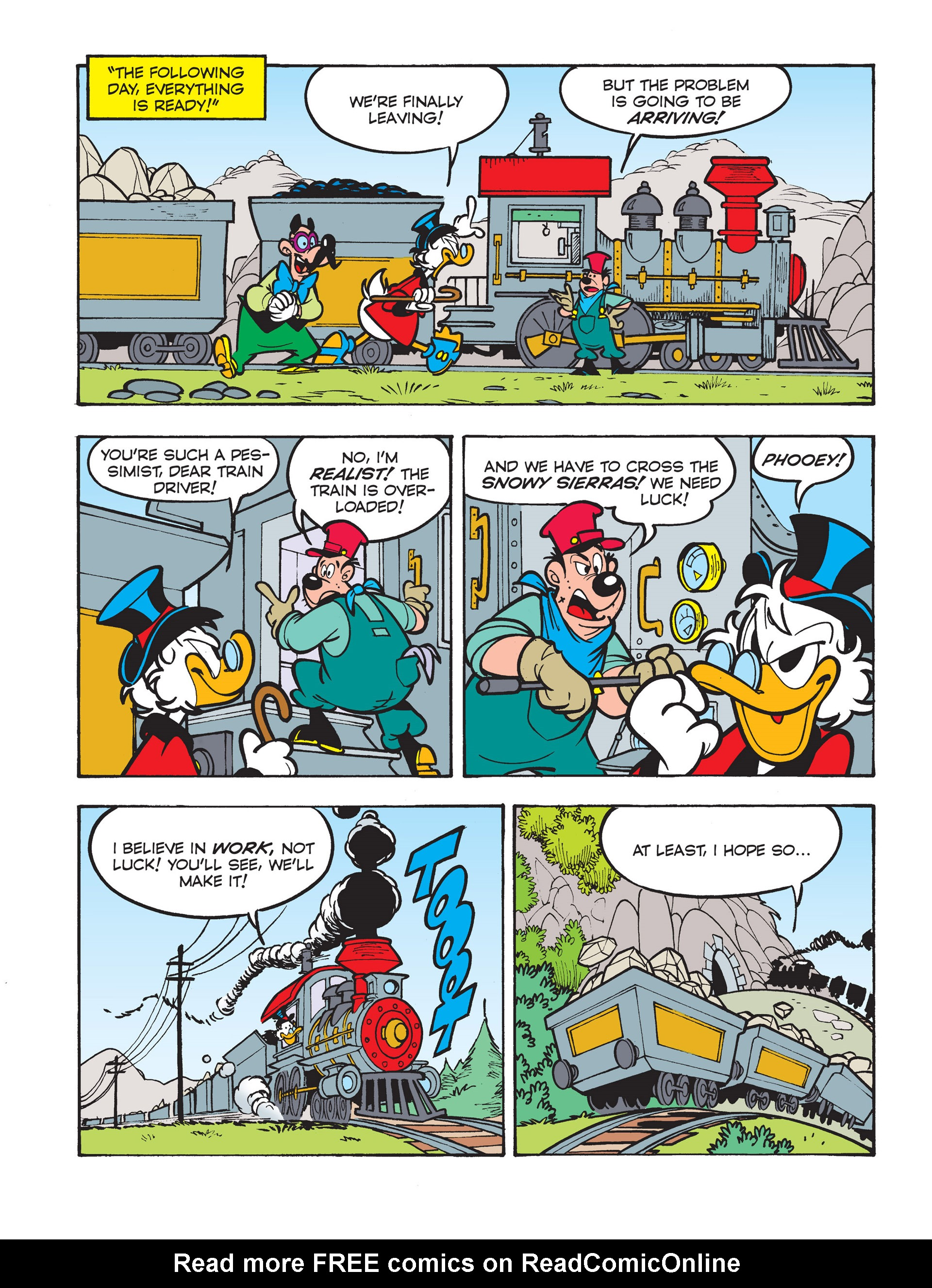Read online All of Scrooge McDuck's Millions comic -  Issue #5 - 14