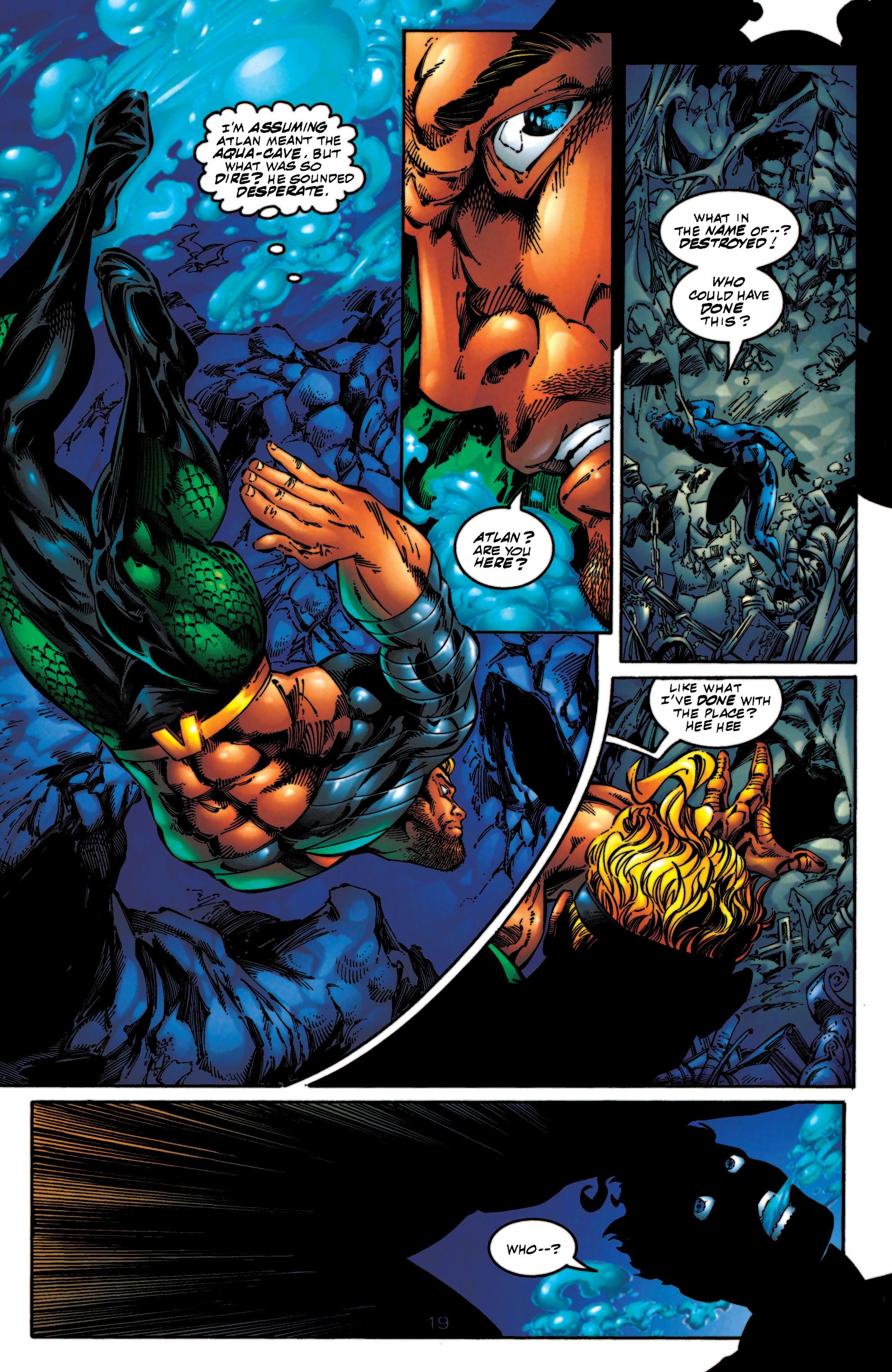 Read online Aquaman (1994) comic -  Issue #56 - 19