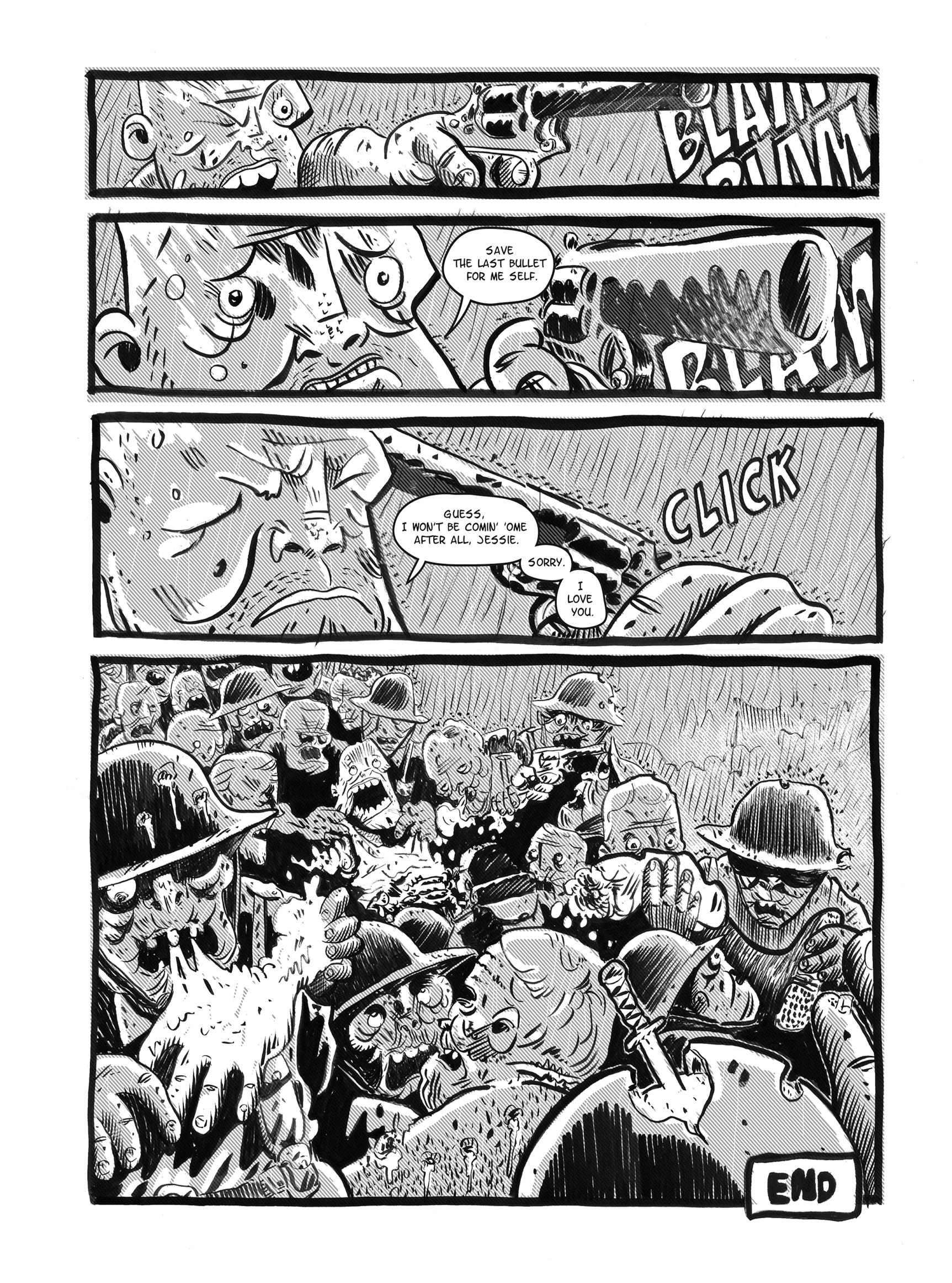 Read online FUBAR comic -  Issue #1 - 70