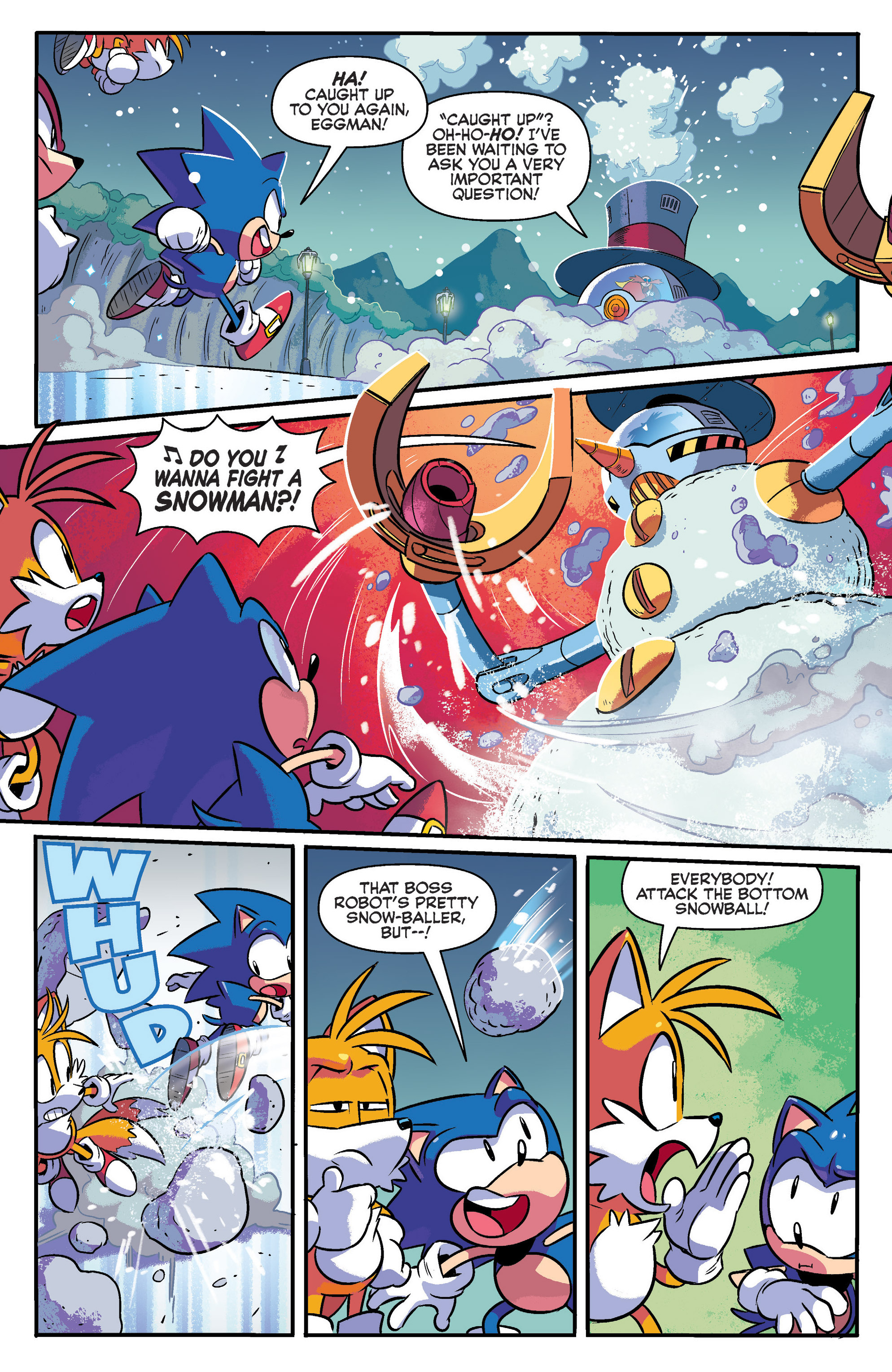 Read online Sonic: Mega Drive - The Next Level comic -  Issue # Full - 6