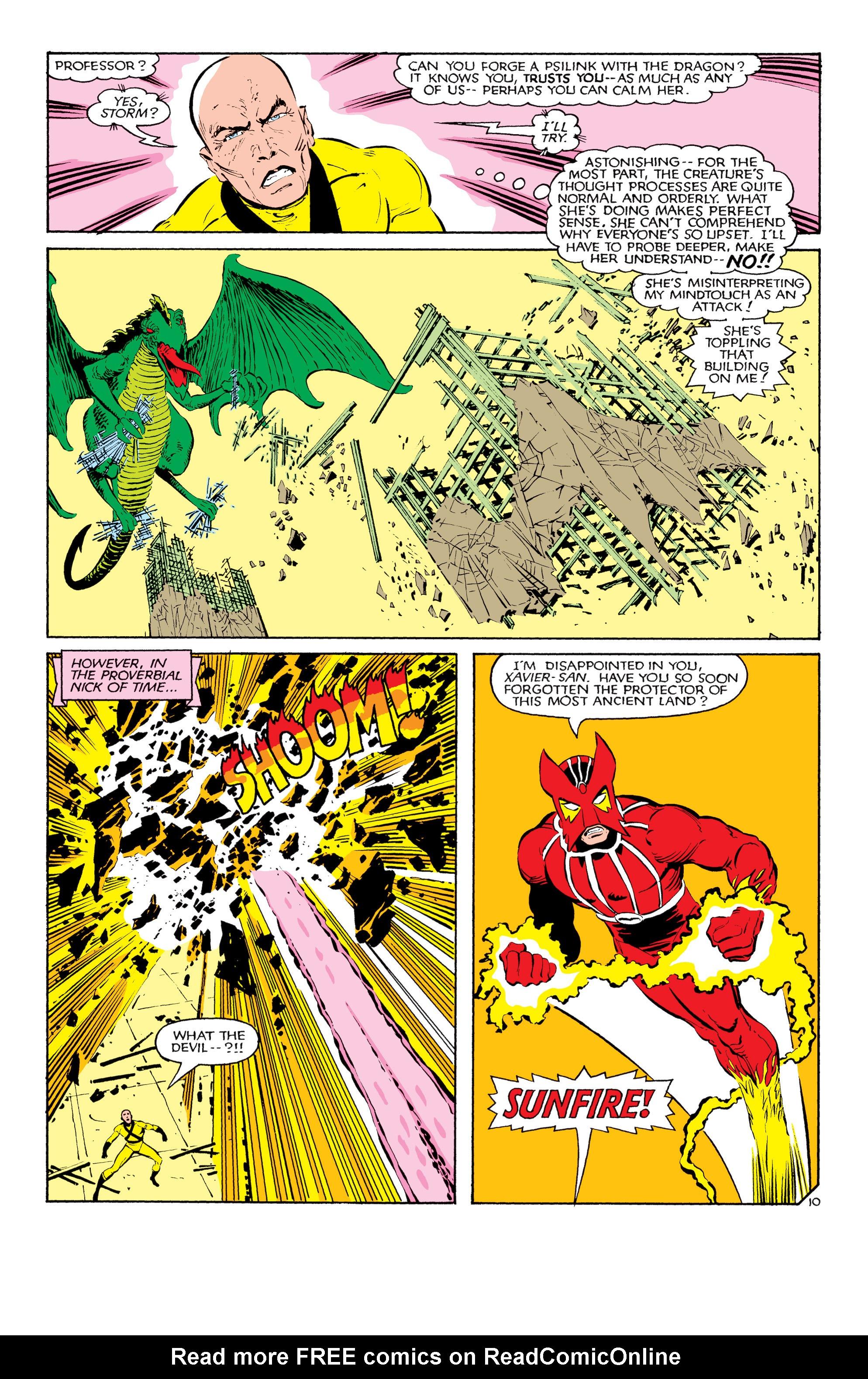 Read online Uncanny X-Men (1963) comic -  Issue #181 - 10