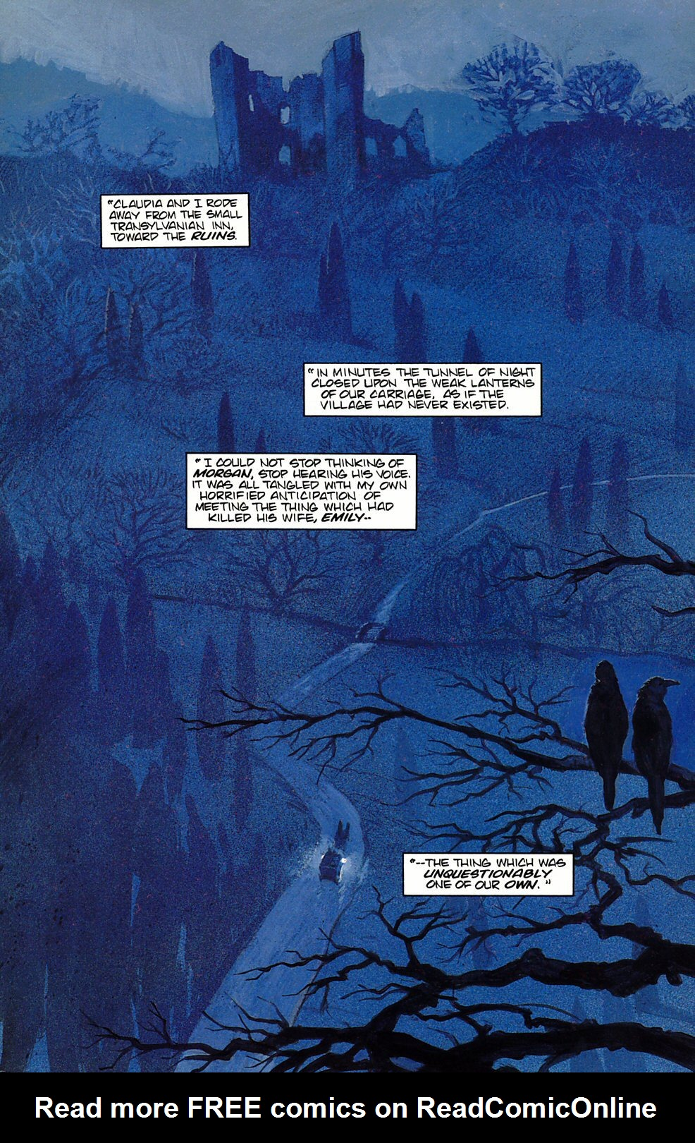 Read online Anne Rice's Interview with the Vampire comic -  Issue #7 - 5