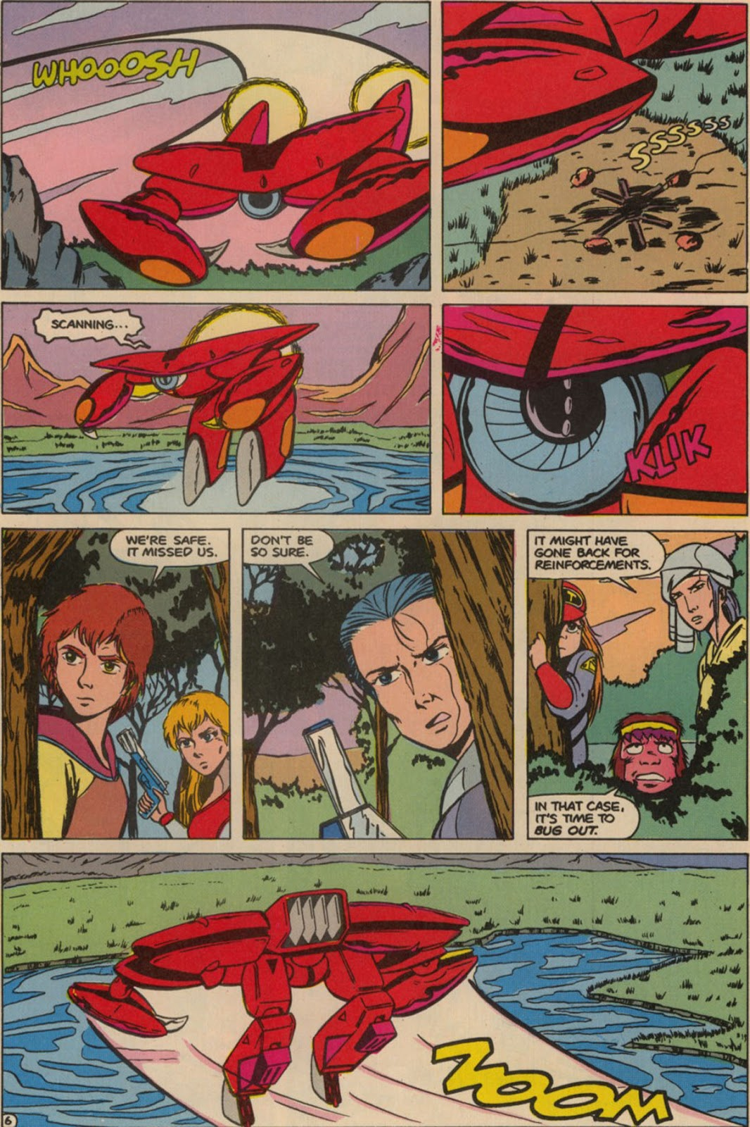 Robotech The New Generation issue 6 - Page 8