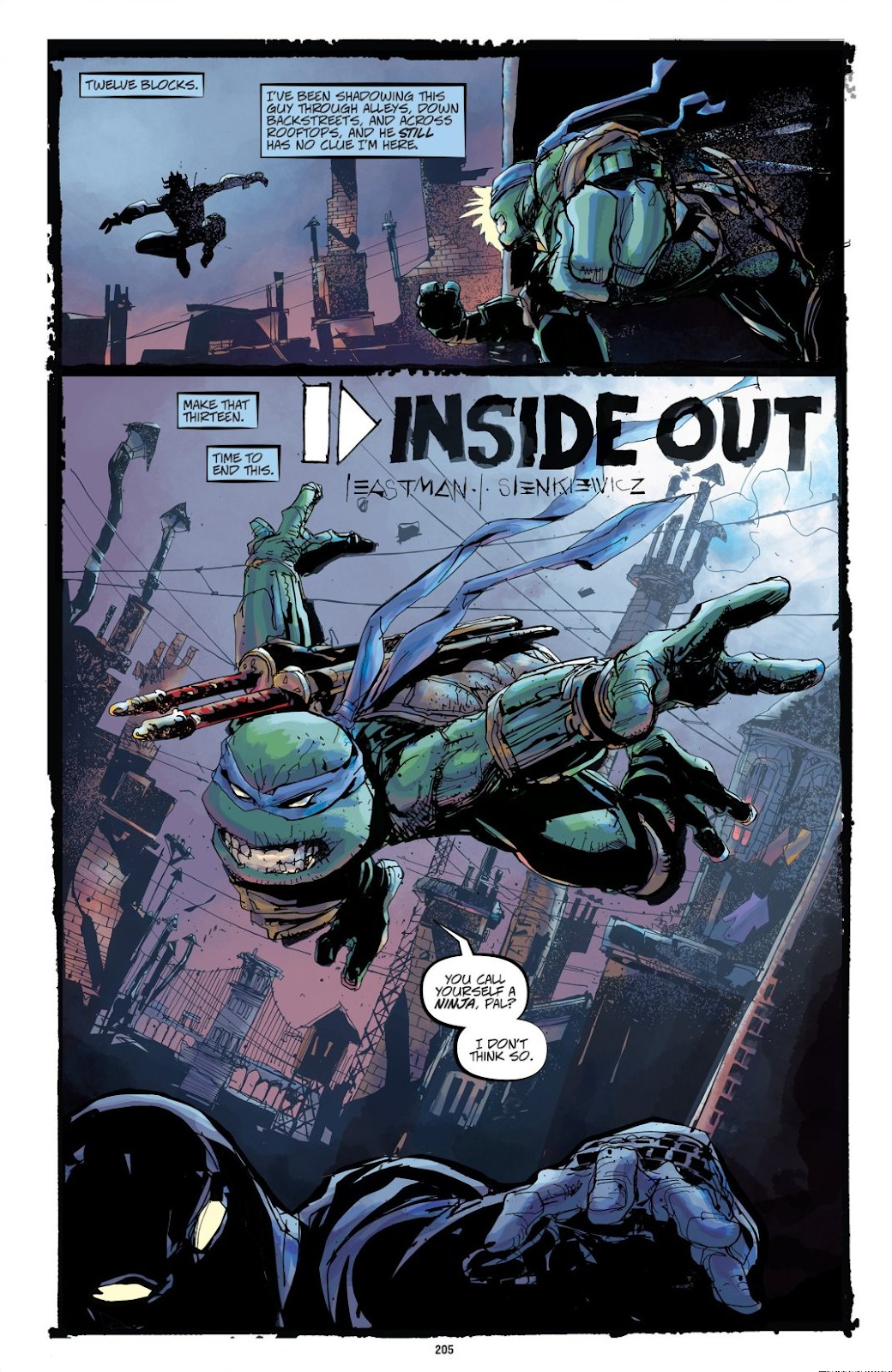 Read online Teenage Mutant Ninja Turtles: The IDW Collection comic -  Issue # TPB 8 (Part 3) - 4