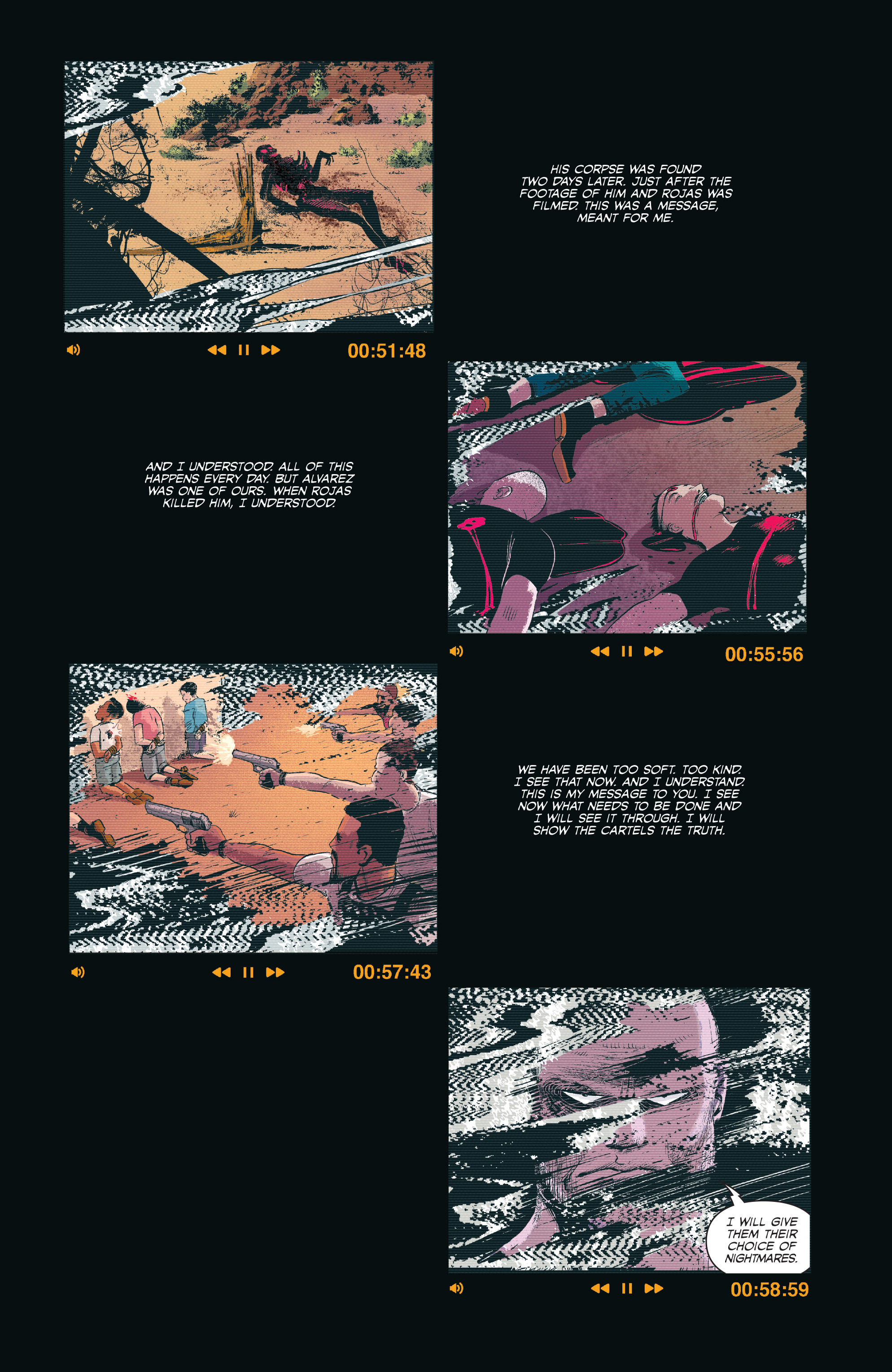 Read online Sombra comic -  Issue #1 - 6