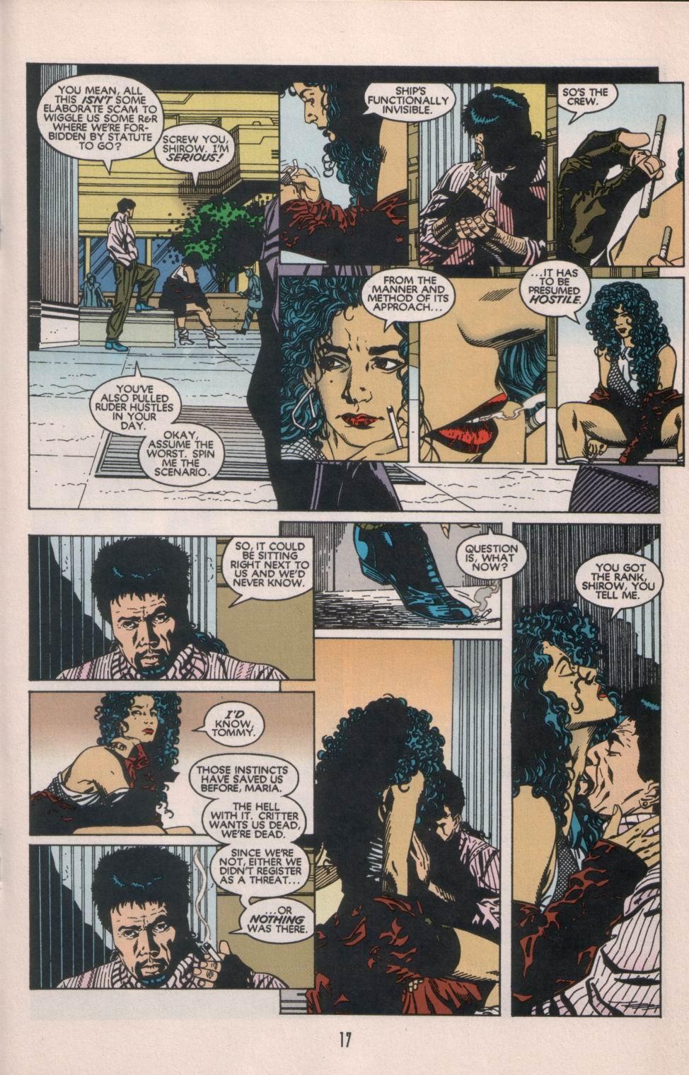 Read online Aliens/Predator: The Deadliest of the Species comic -  Issue #1 - 18