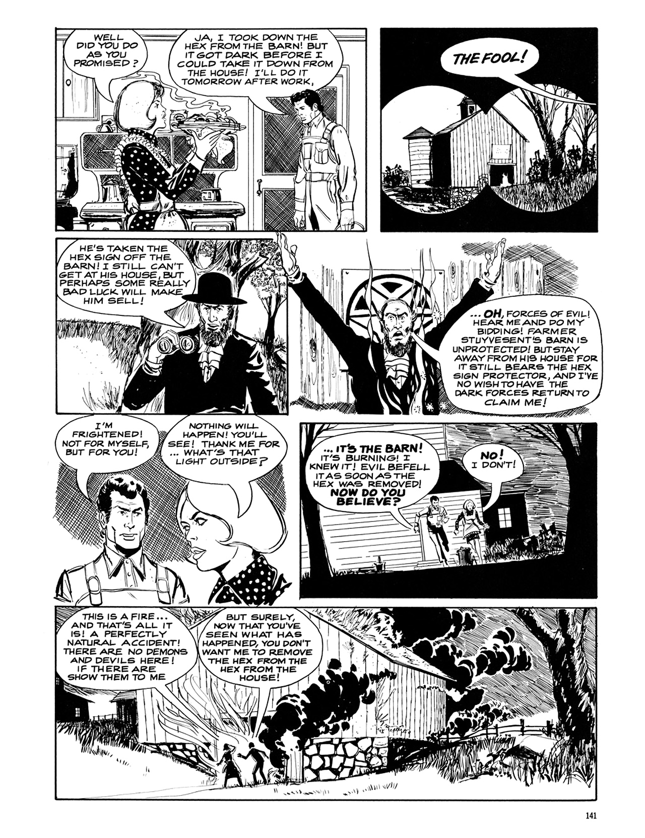 Read online Eerie Archives comic -  Issue # TPB 5 - 142