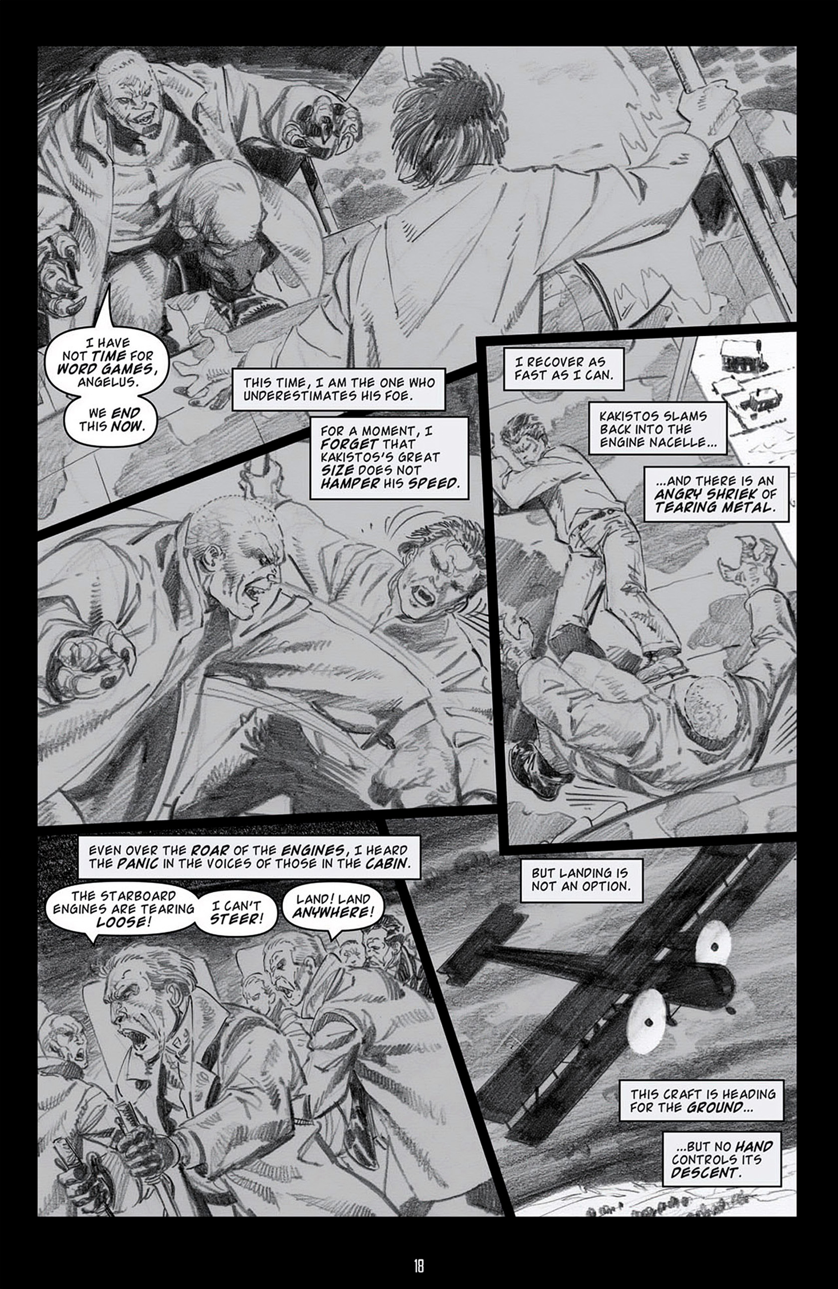 Read online Angel: Blood & Trenches comic -  Issue #4 - 21