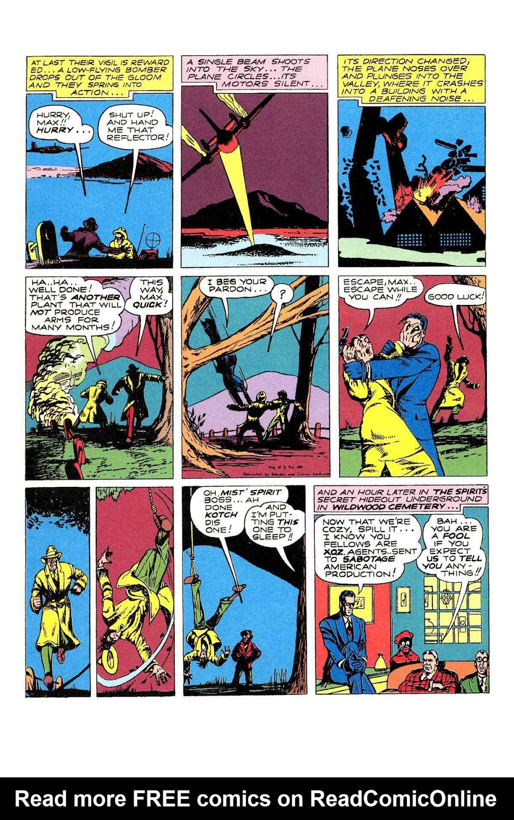 Read online Will Eisner's The Spirit Archives comic -  Issue # TPB 2 (Part 1) - 74