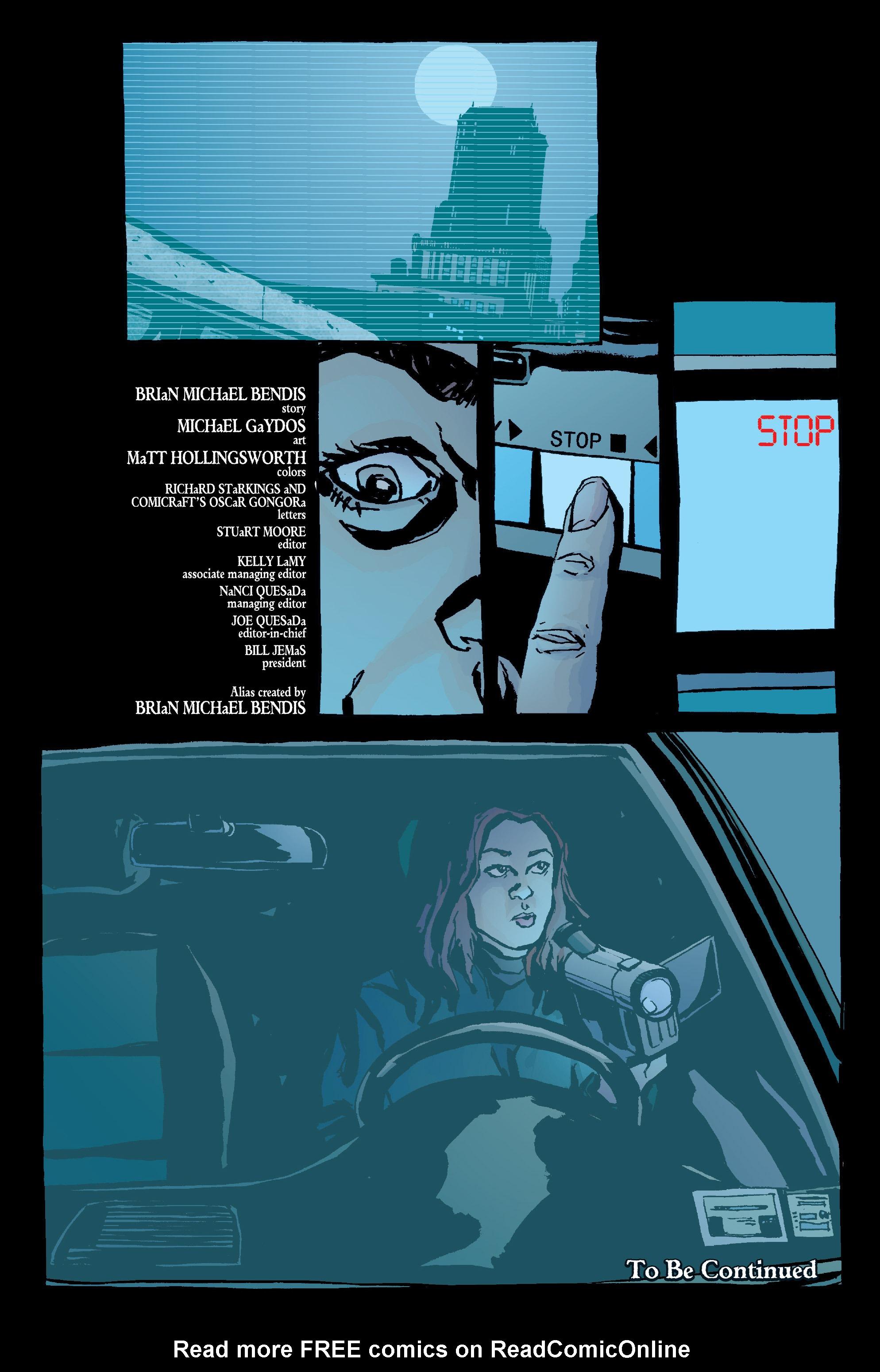 Read online Alias comic -  Issue #1 - 25