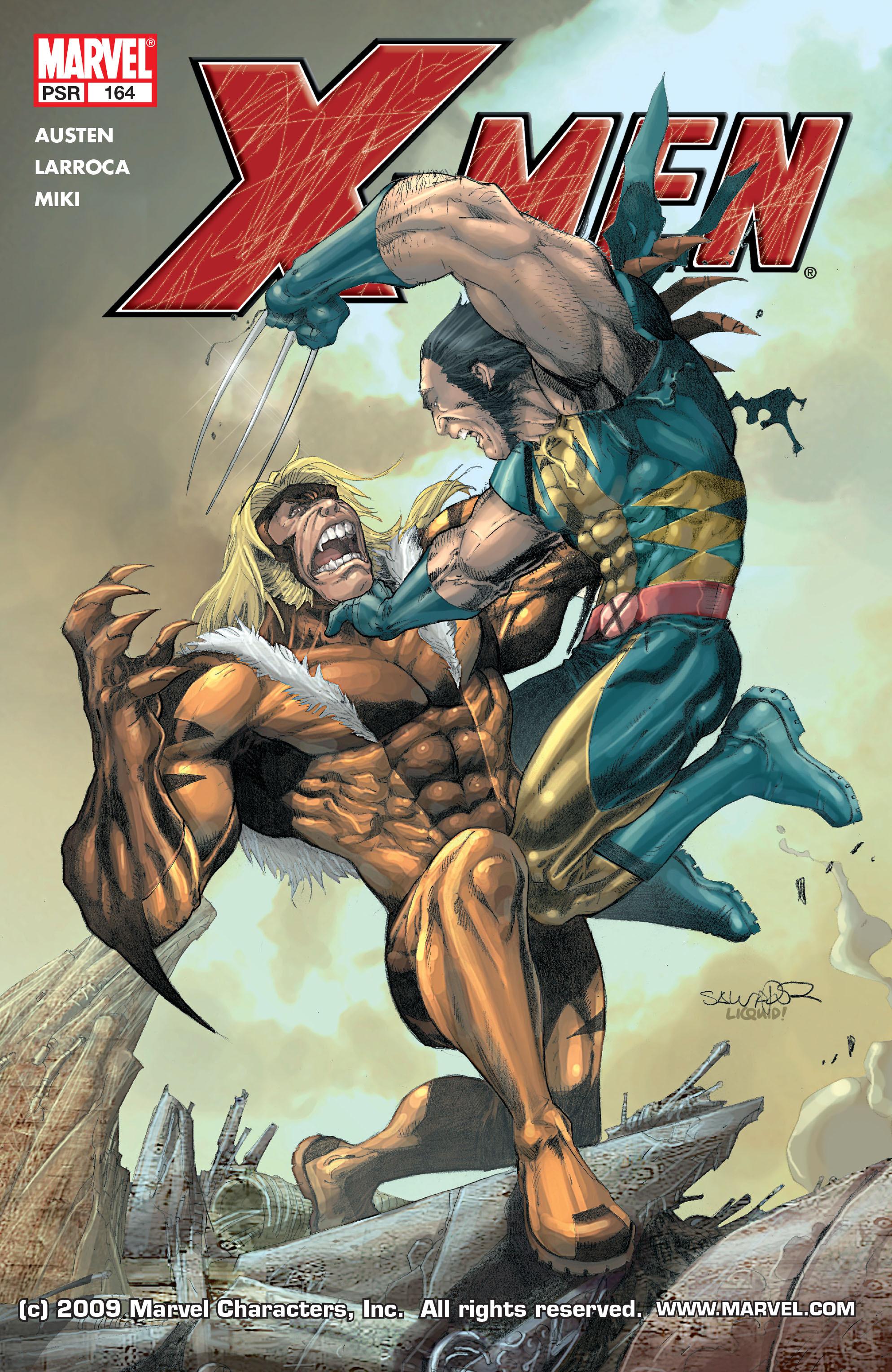 X-Men (1991) 164 Page 0