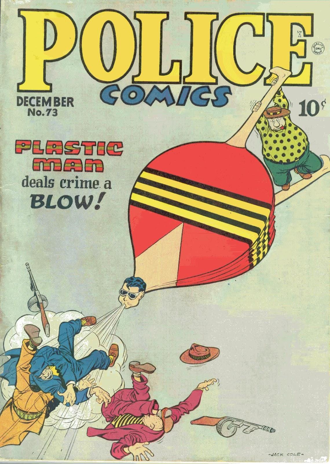 Police Comics 73 Page 1