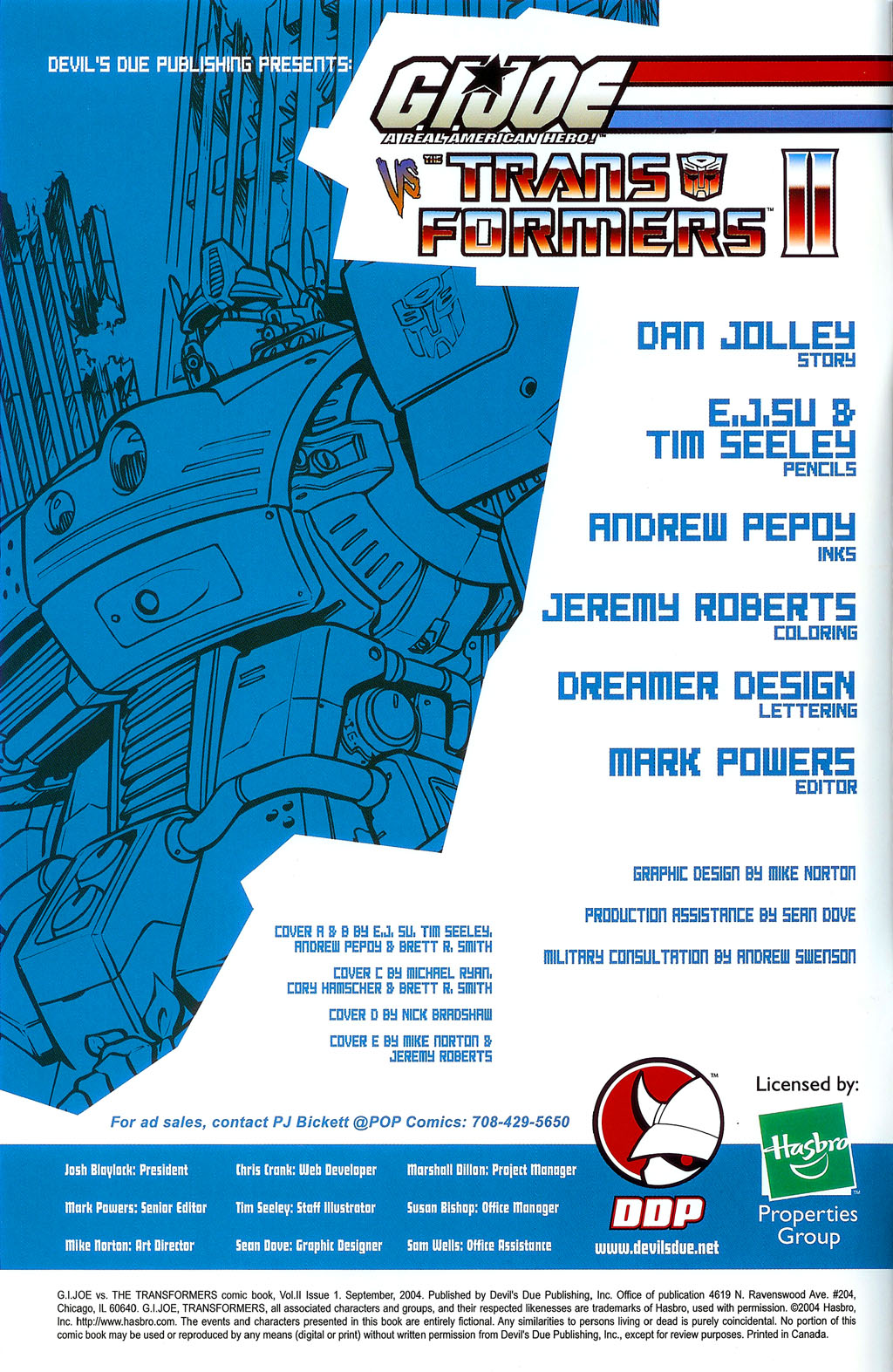 G.I. Joe vs. The Transformers II Issue #1 #2 - English 2