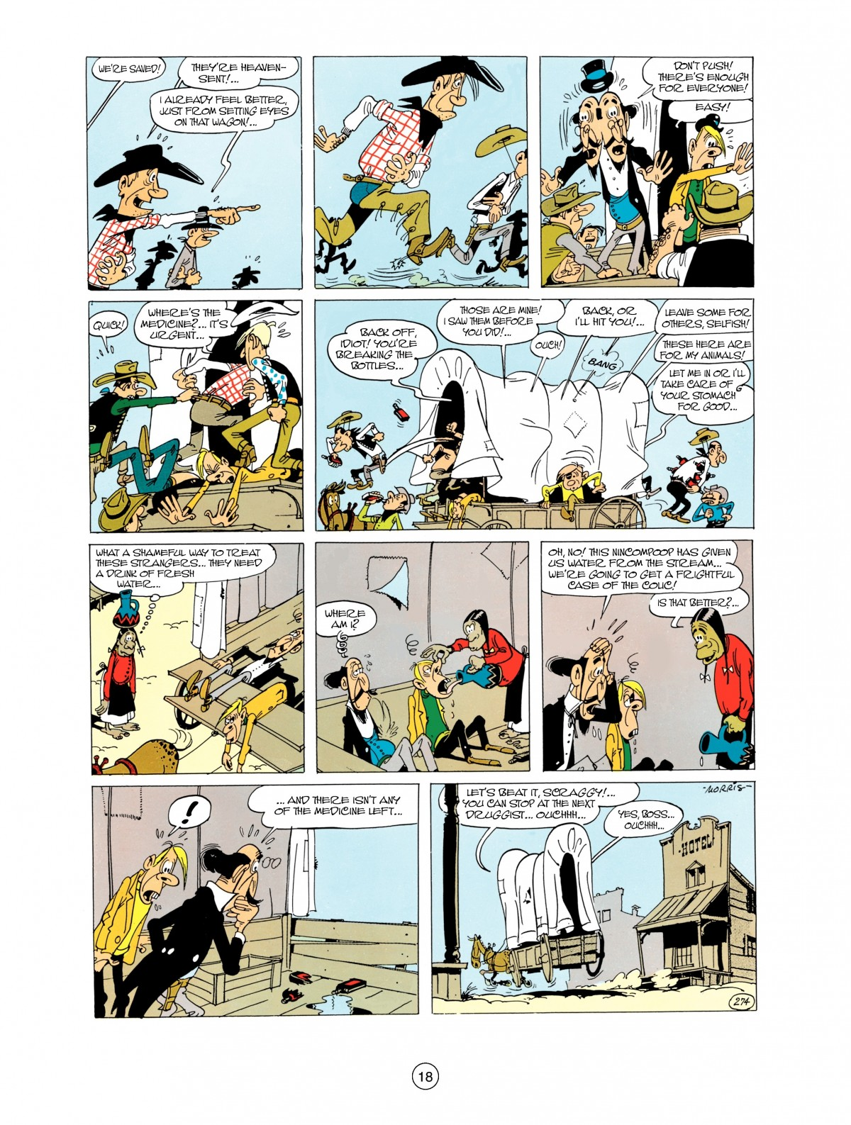 Read online A Lucky Luke Adventure comic -  Issue #38 - 18