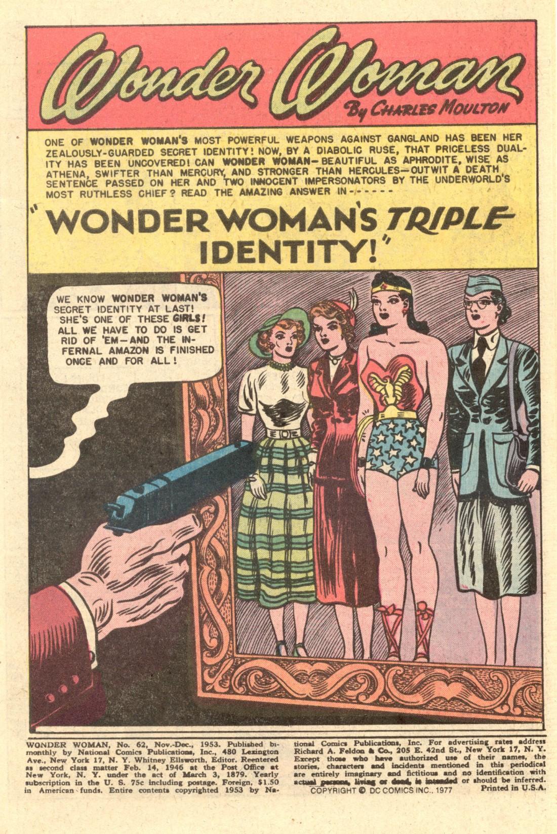 Read online Wonder Woman (1942) comic -  Issue #62 - 2