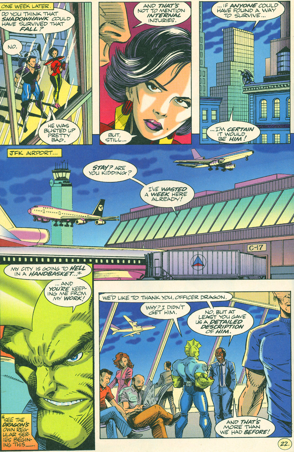 Read online ShadowHawk comic -  Issue #4 - 26