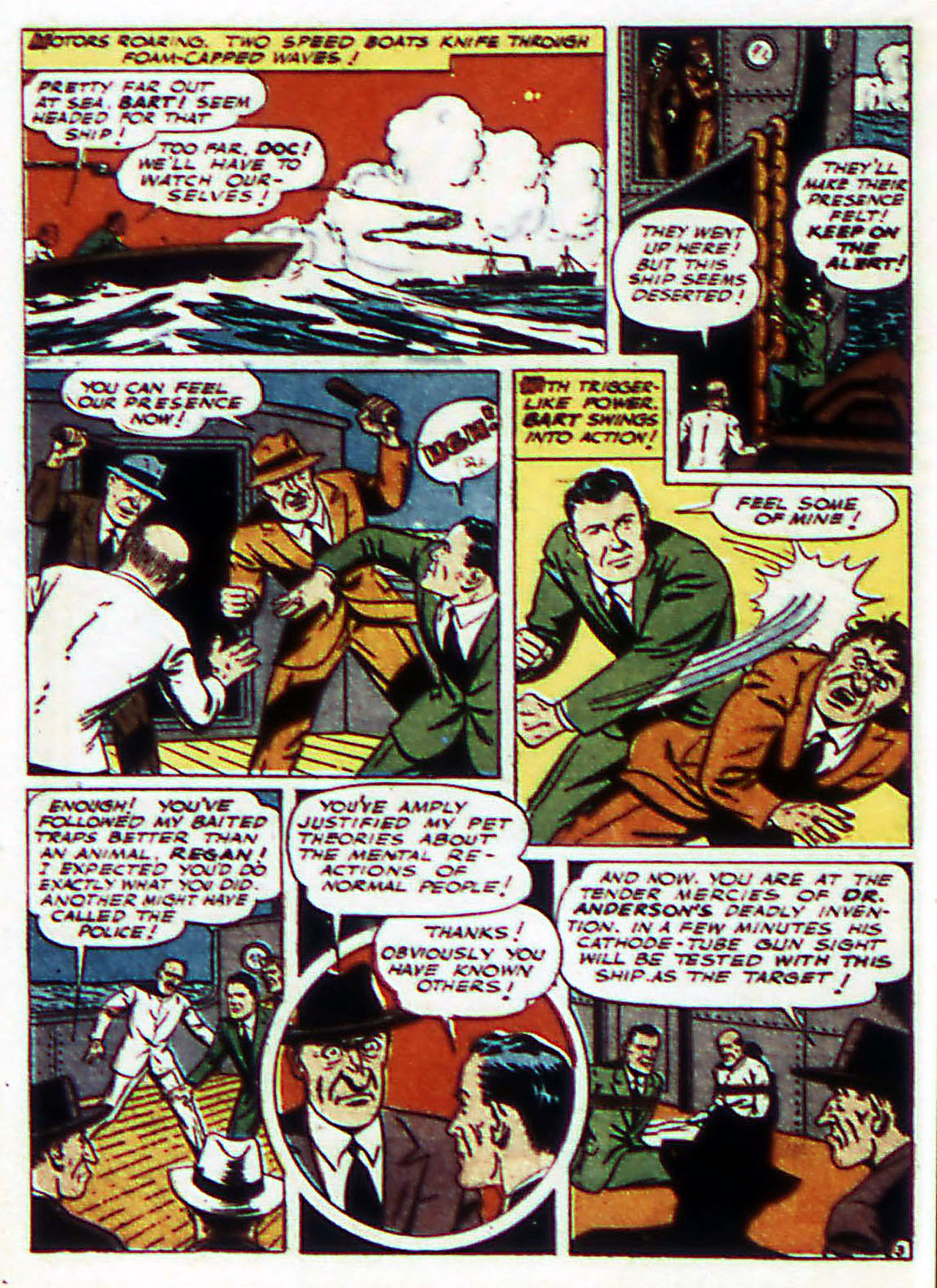 Read online Detective Comics (1937) comic -  Issue #72 - 45