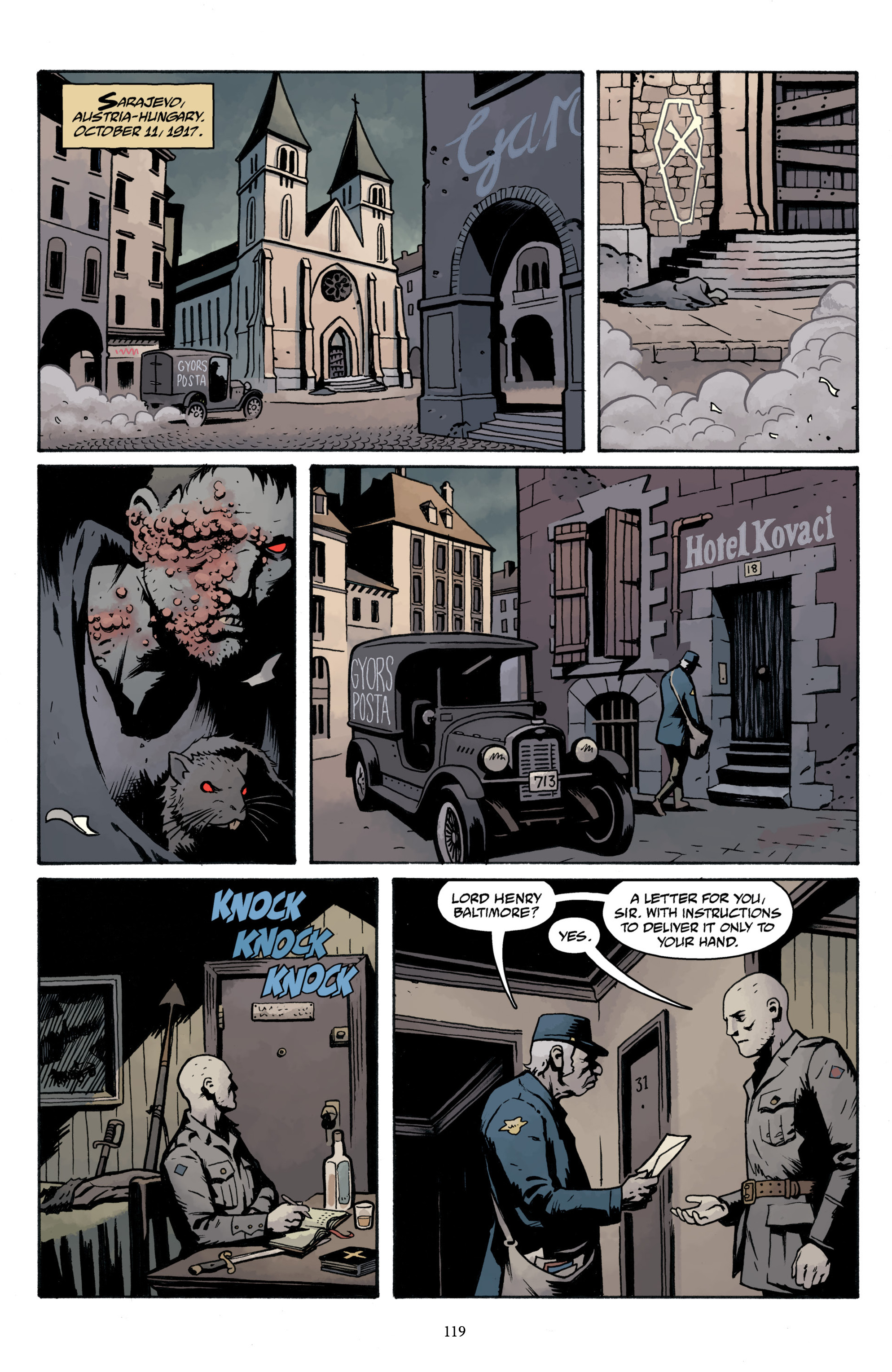 Read online Baltimore Volume 3: A Passing Stranger and Other Stories comic -  Issue # Full - 121