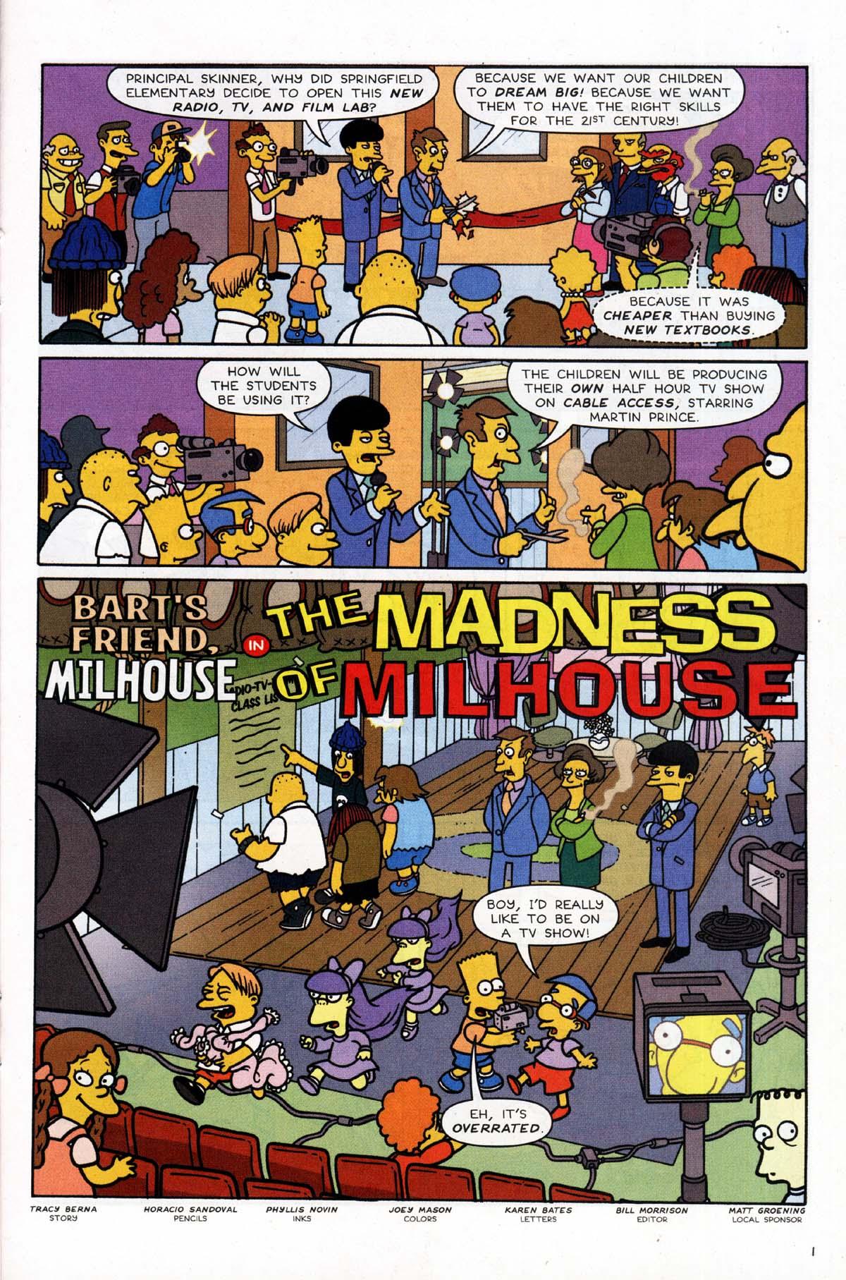Read online Simpsons Comics Presents Bart Simpson comic -  Issue #10 - 20