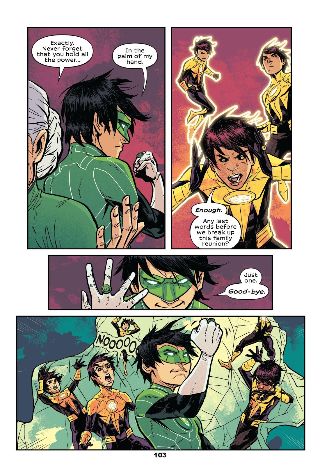 Read online Green Lantern: Legacy comic -  Issue # TPB - 101