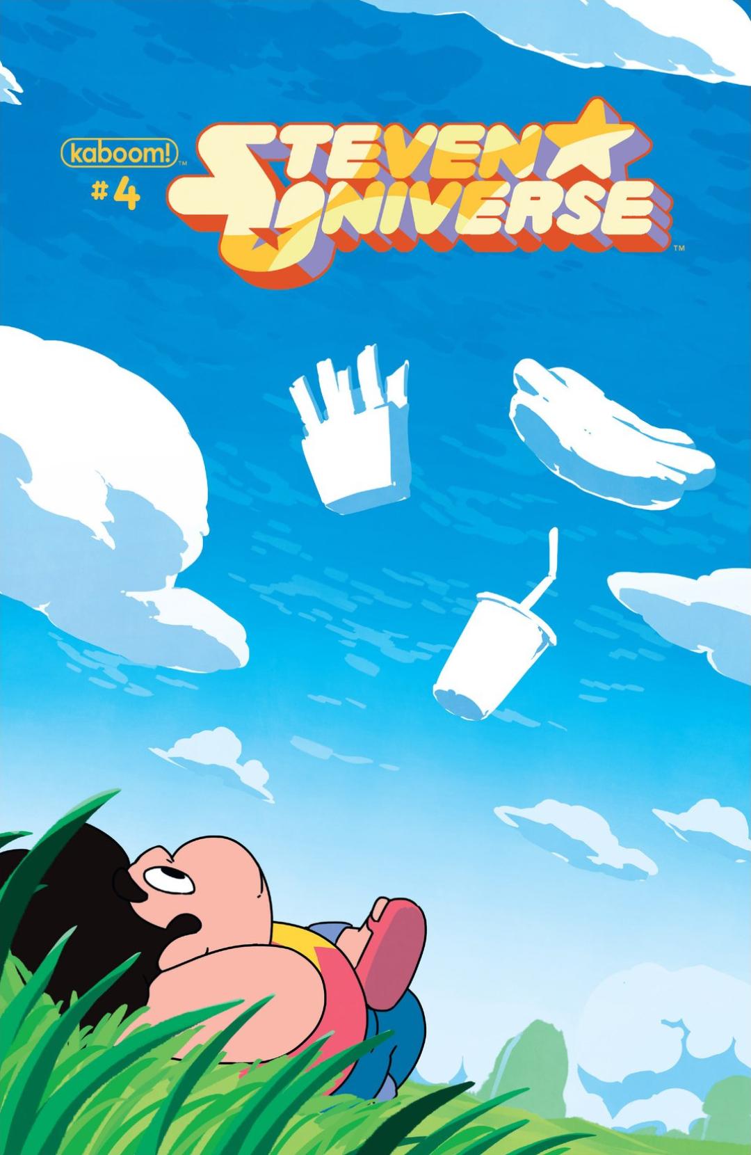 Steven Universe 4 Page 1