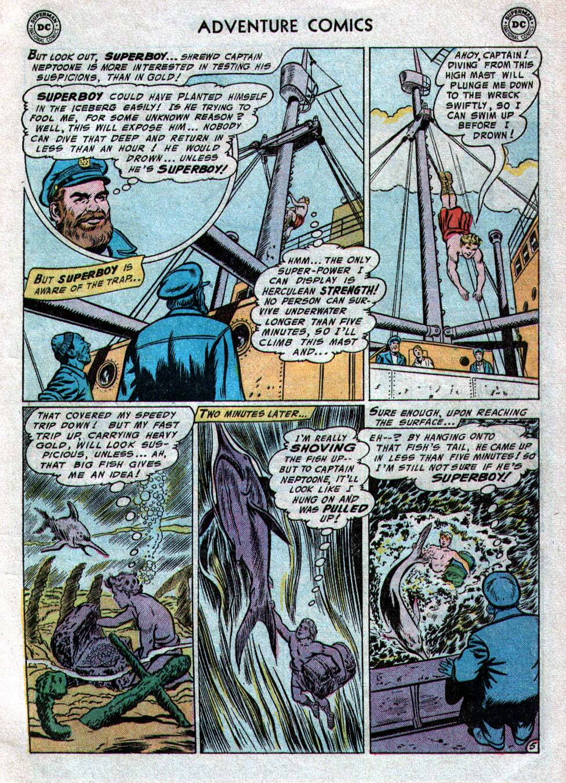 Read online Adventure Comics (1938) comic -  Issue #223 - 7