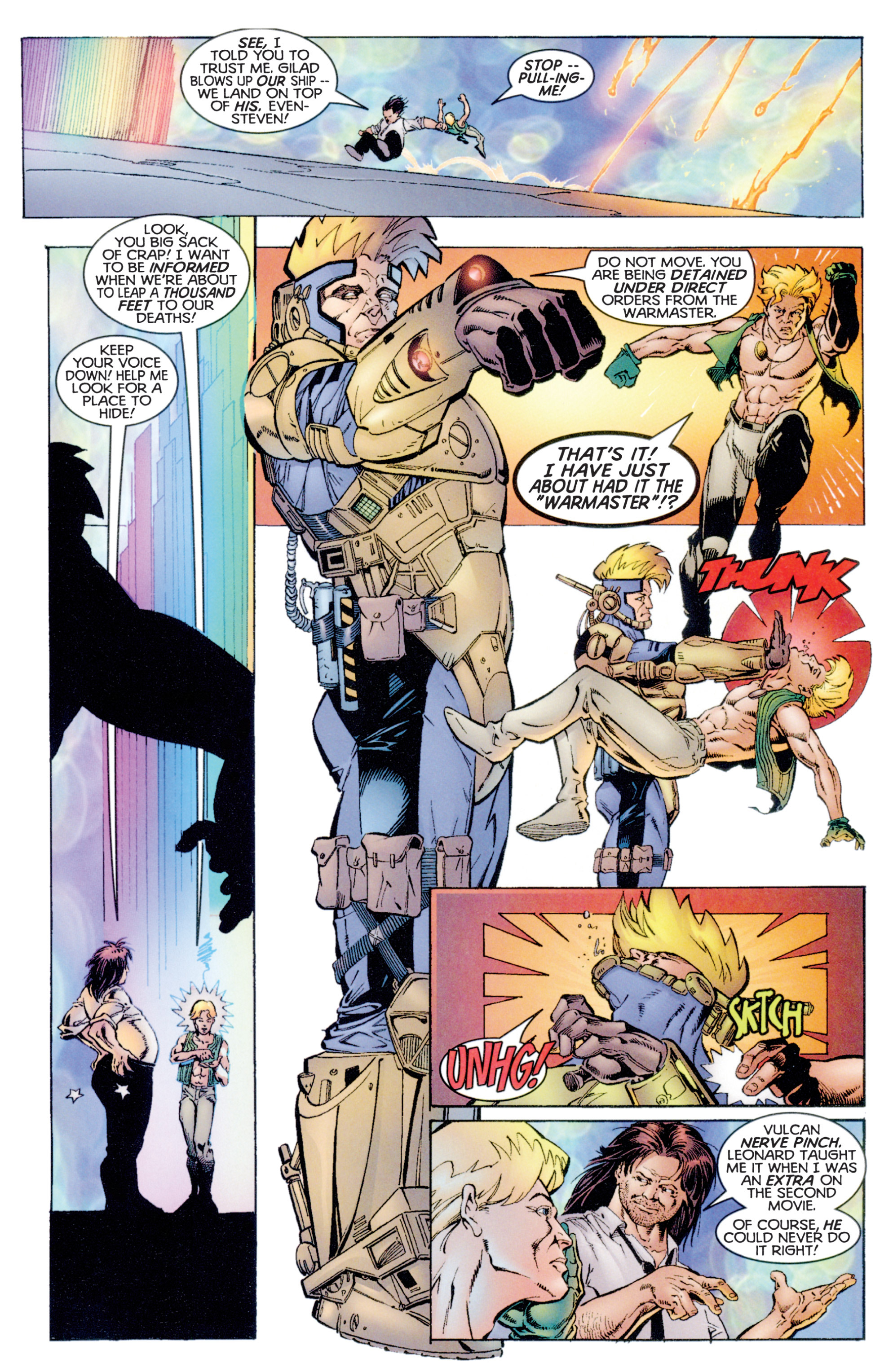 Read online Eternal Warriors comic -  Issue # Issue Archer & Armstrong - 22