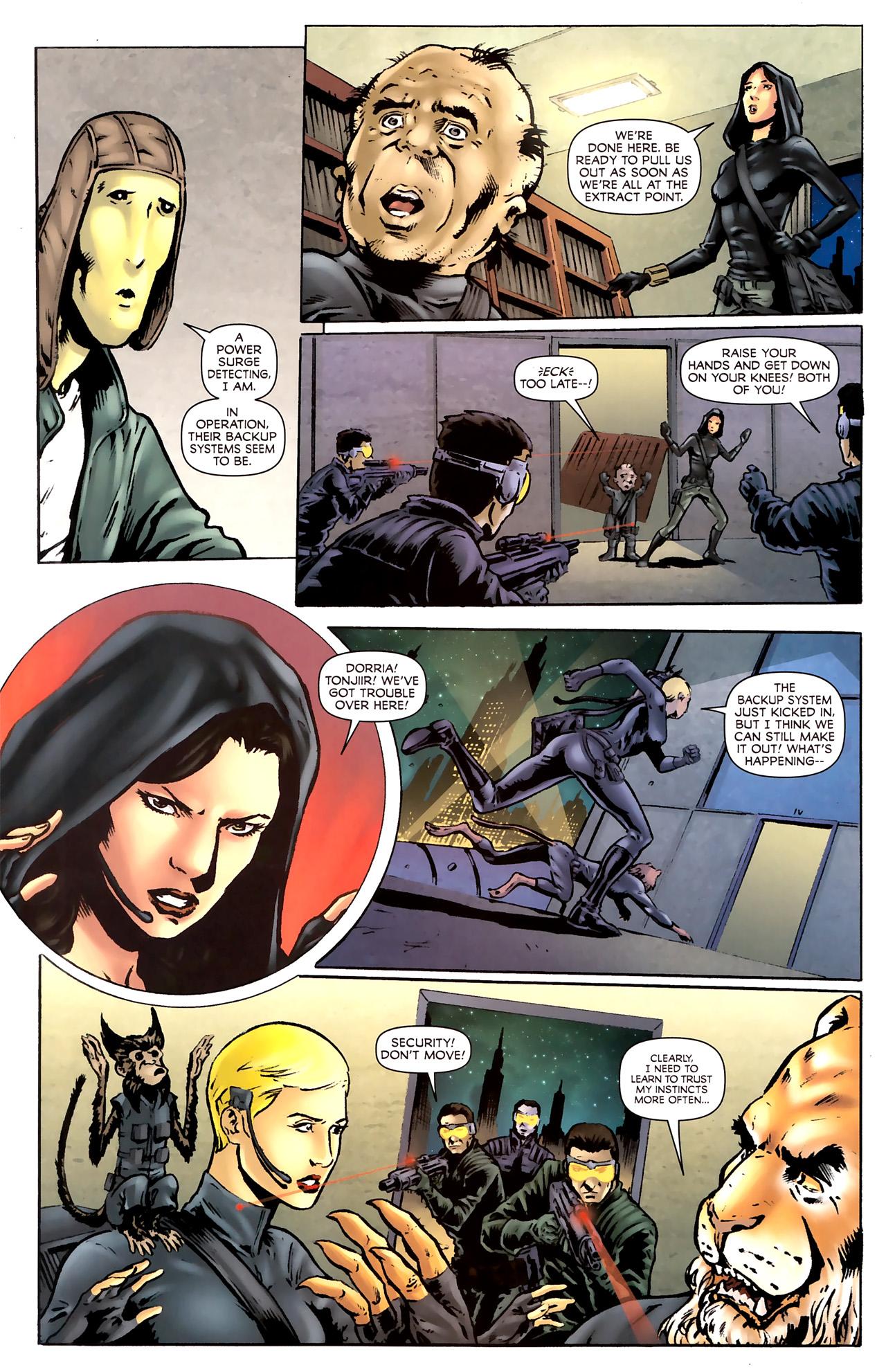 Read online Stargate Vala Mal Doran comic -  Issue #2 - 12