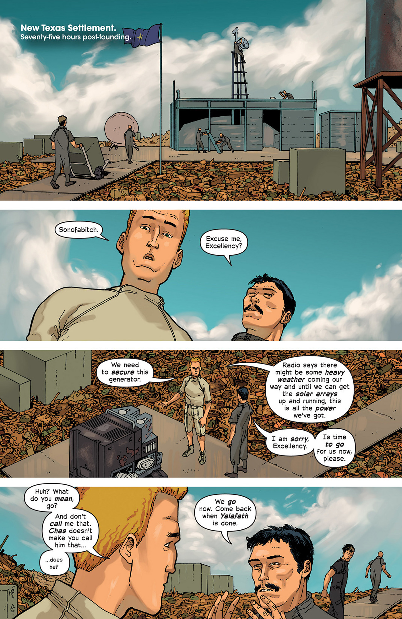 Read online Great Pacific comic -  Issue #2 - 11