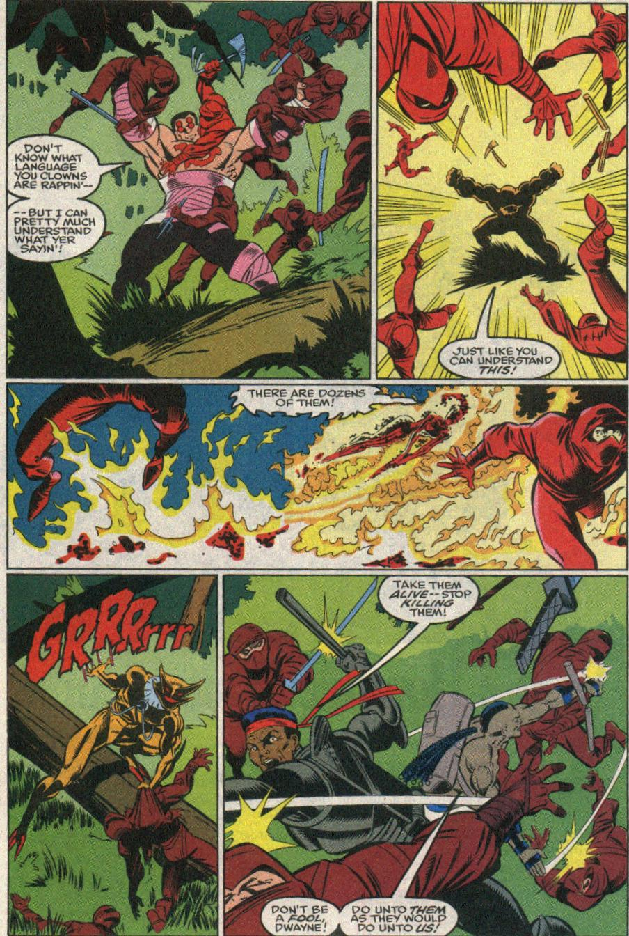 The New Warriors Issue #22 #26 - English 21