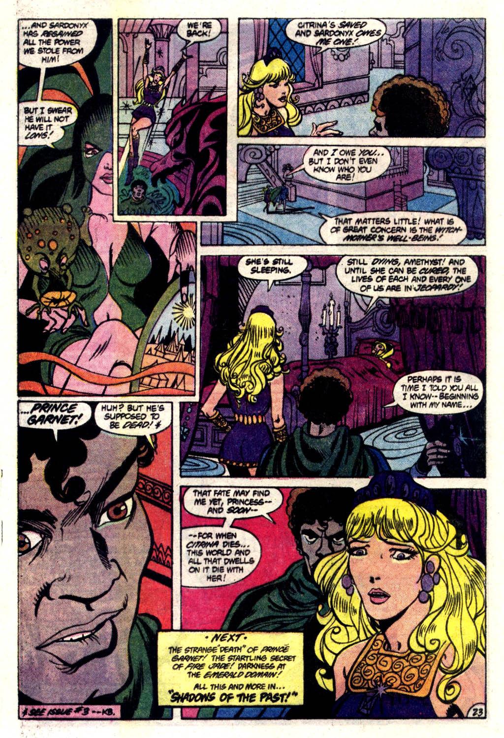 Read online Amethyst (1985) comic -  Issue #6 - 24