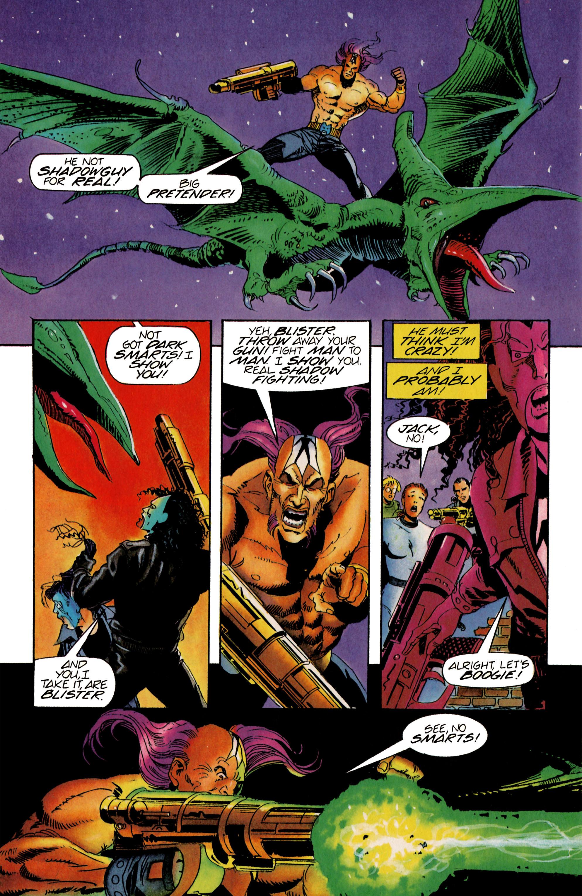 Read online Shadowman (1992) comic -  Issue #21 - 17
