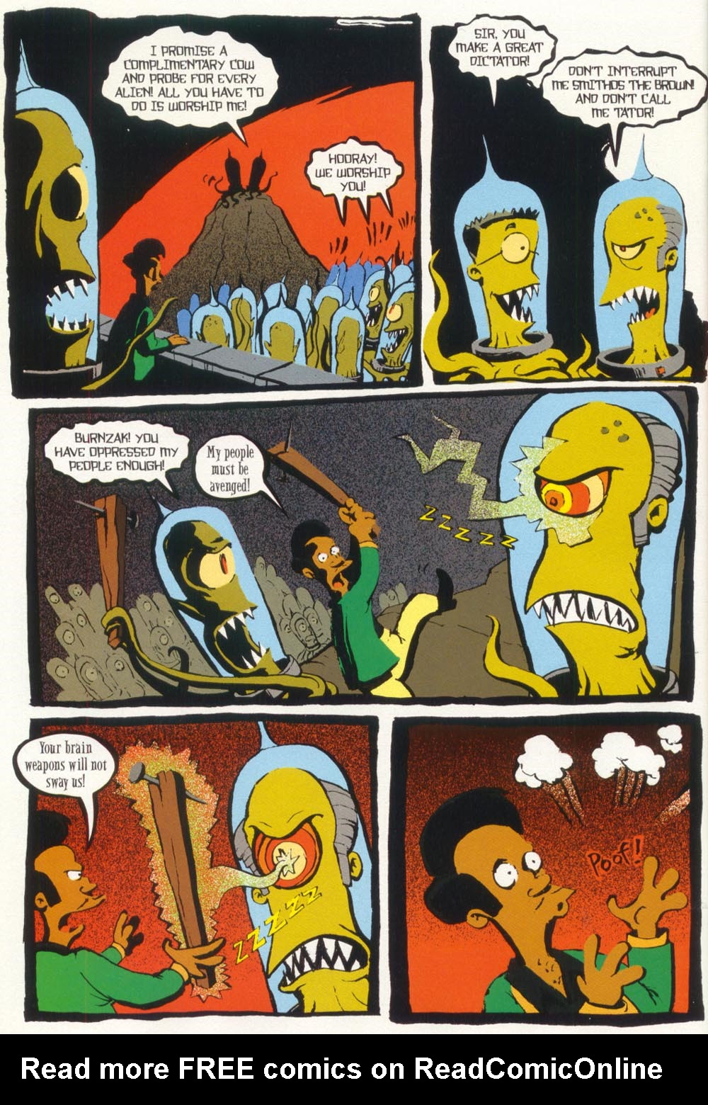 Read online Treehouse of Horror comic -  Issue #5 - 38