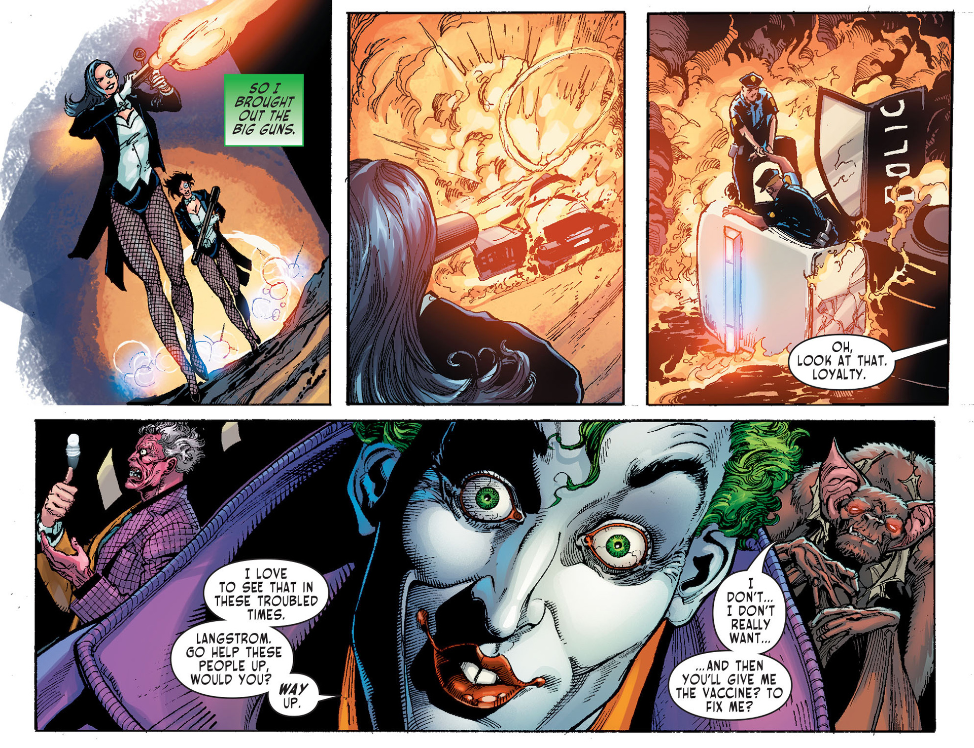Read online Sensation Comics Featuring Wonder Woman comic -  Issue #1 - 9
