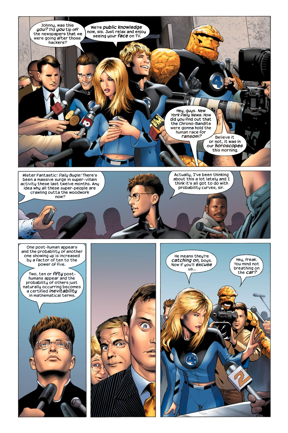 Read online Ultimate Fantastic Four (2004) comic -  Issue #21 - 9