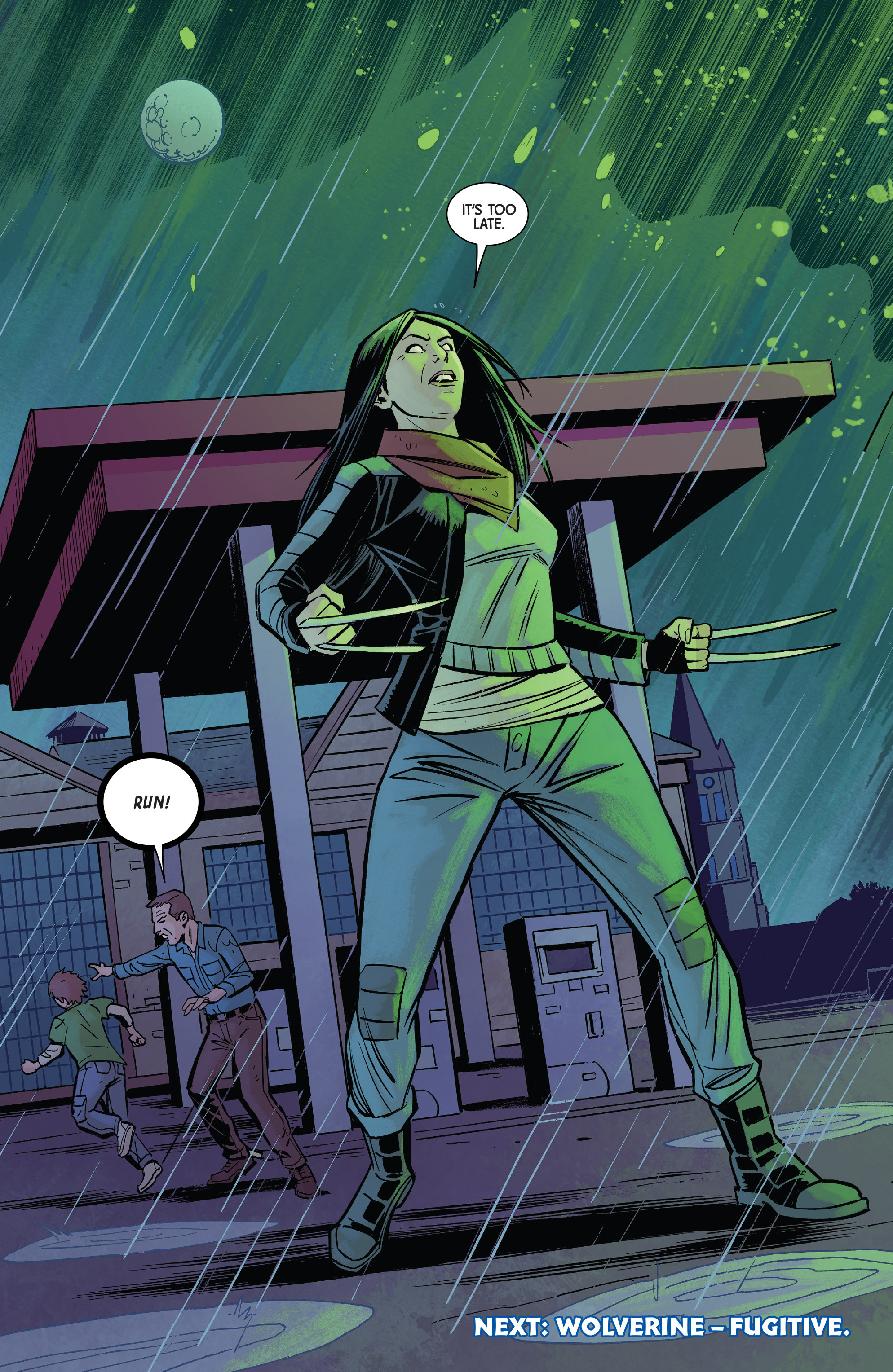 Read online All-New Wolverine (2016) comic -  Issue #13 - 21