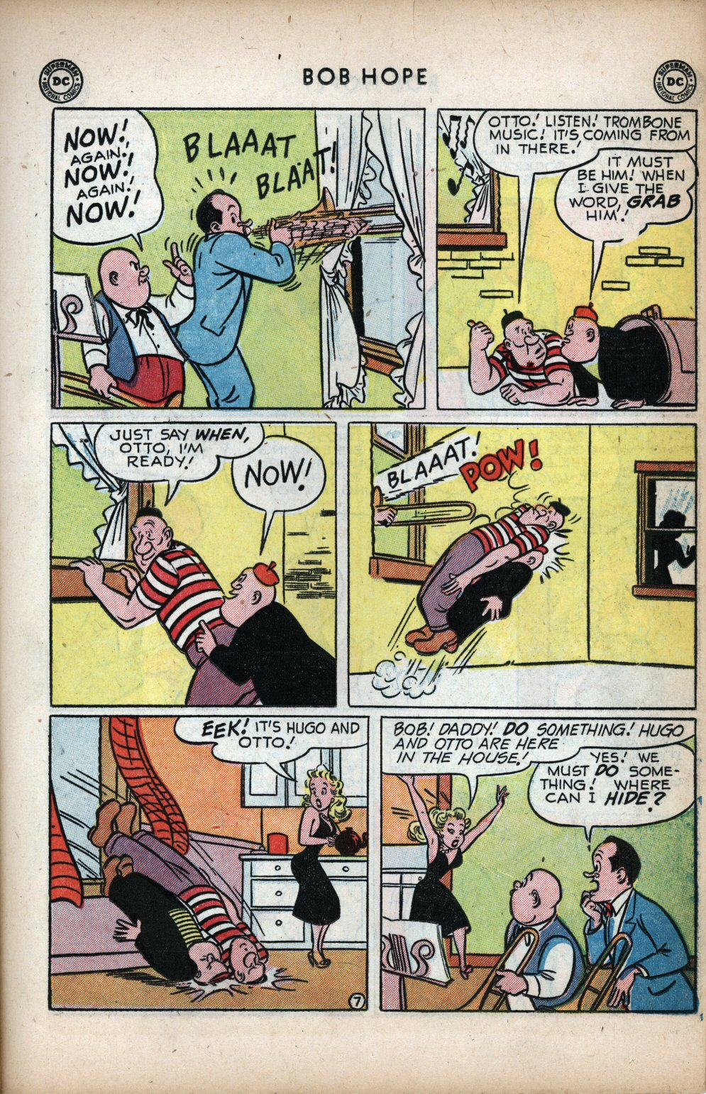 The Adventures of Bob Hope issue 11 - Page 17